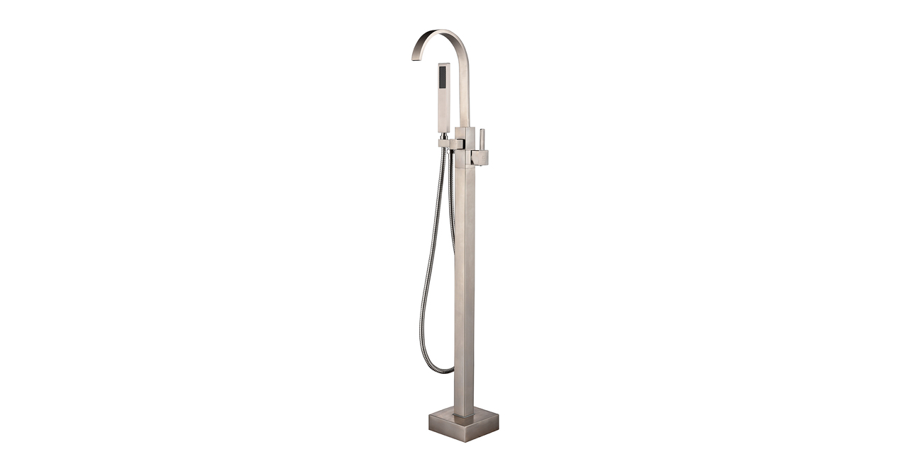 Snoqualmie Tub Faucet, Brushed Nickel