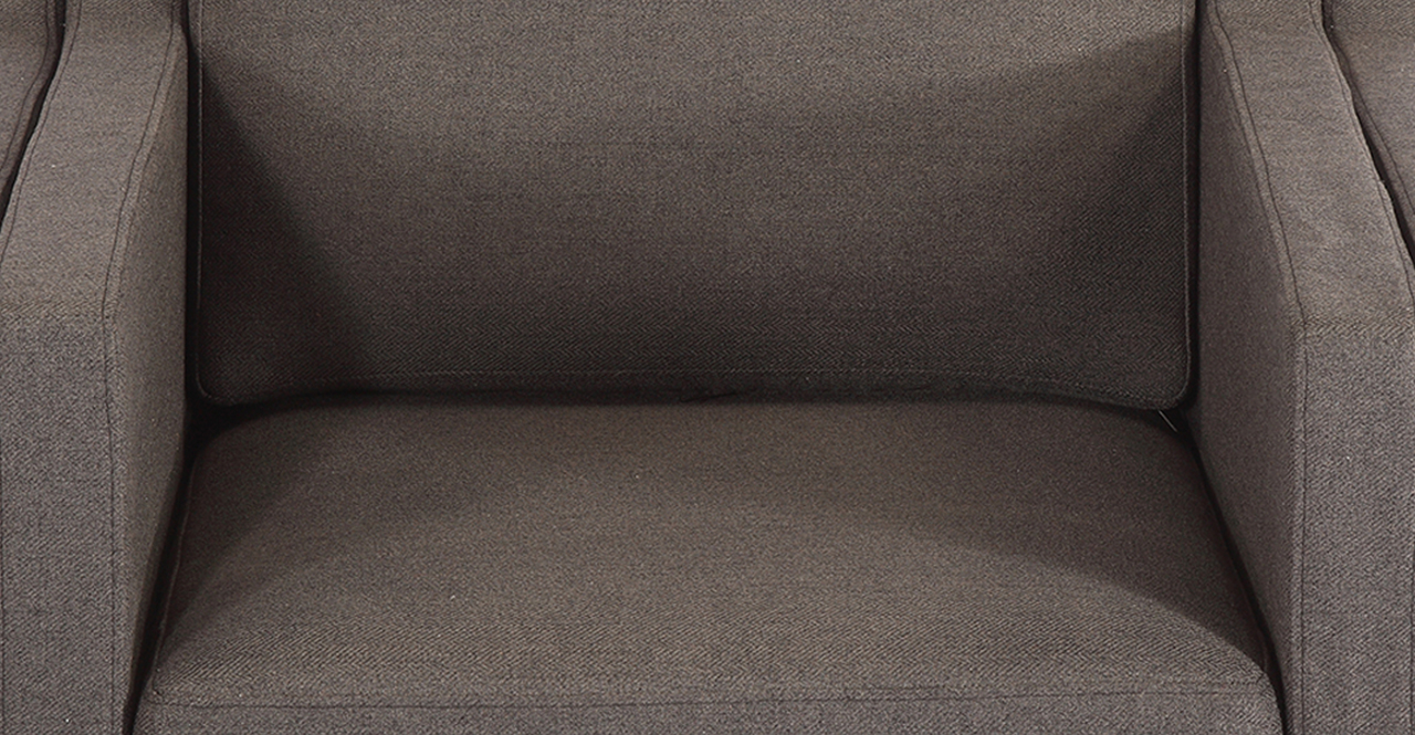 Monroe Chair, Chevron Flax