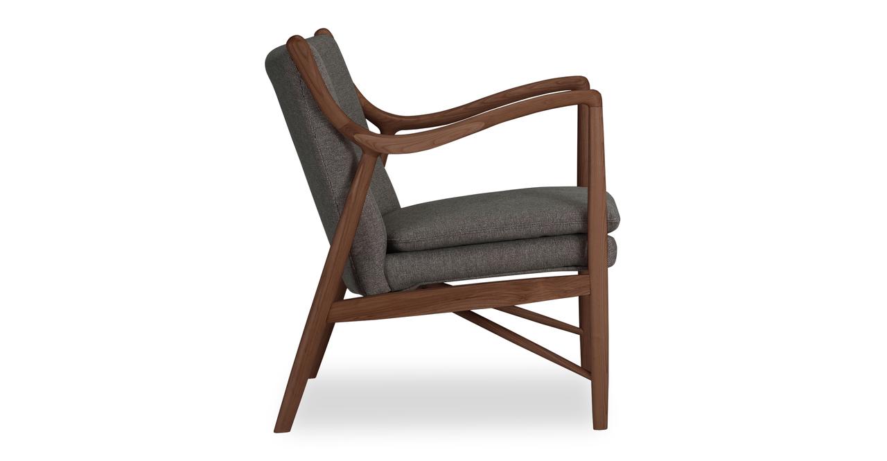 Copenhagen 45 Armchair, Gosford/Walnut