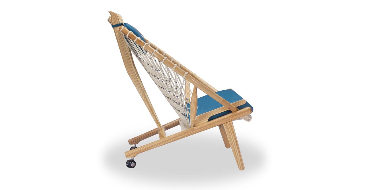 Circle Hoop Chair, Urban Surf/Ash