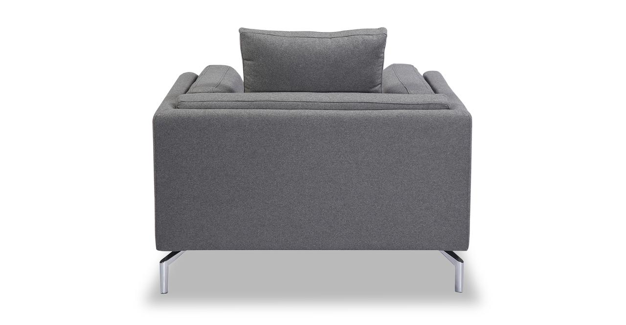 Basil Loft Arm Chair, Cadet Grey