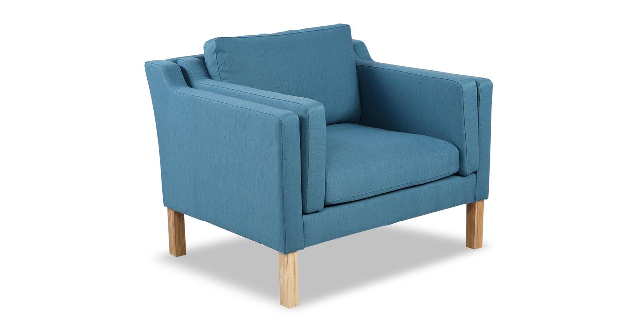 Monroe Chair, Urban Surf Twill