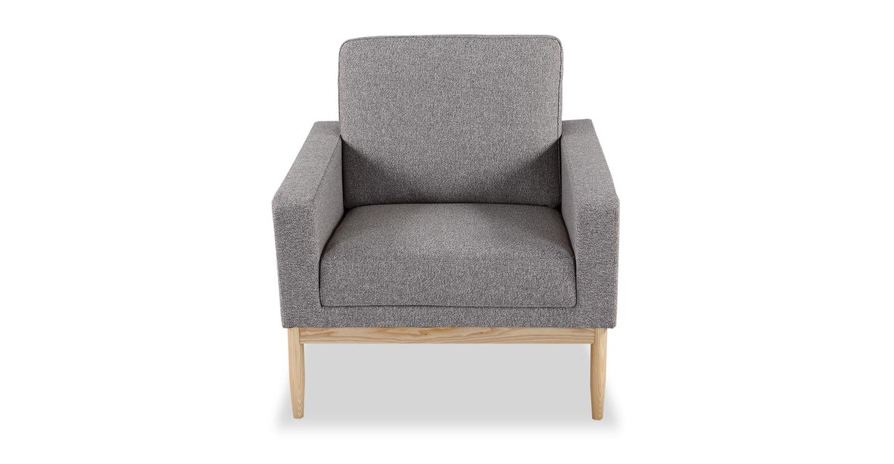 Stilt Danish Mod Chair, Urban Pebble/Ash
