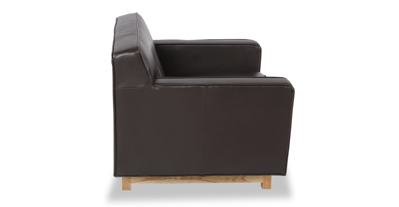 Kennedy Chair, Brown Aniline Leather