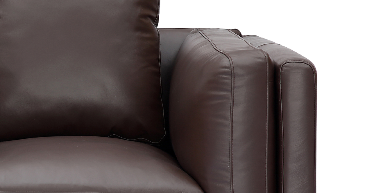 Basil Loft Arm Chair, Bolivarian Aniline Leather