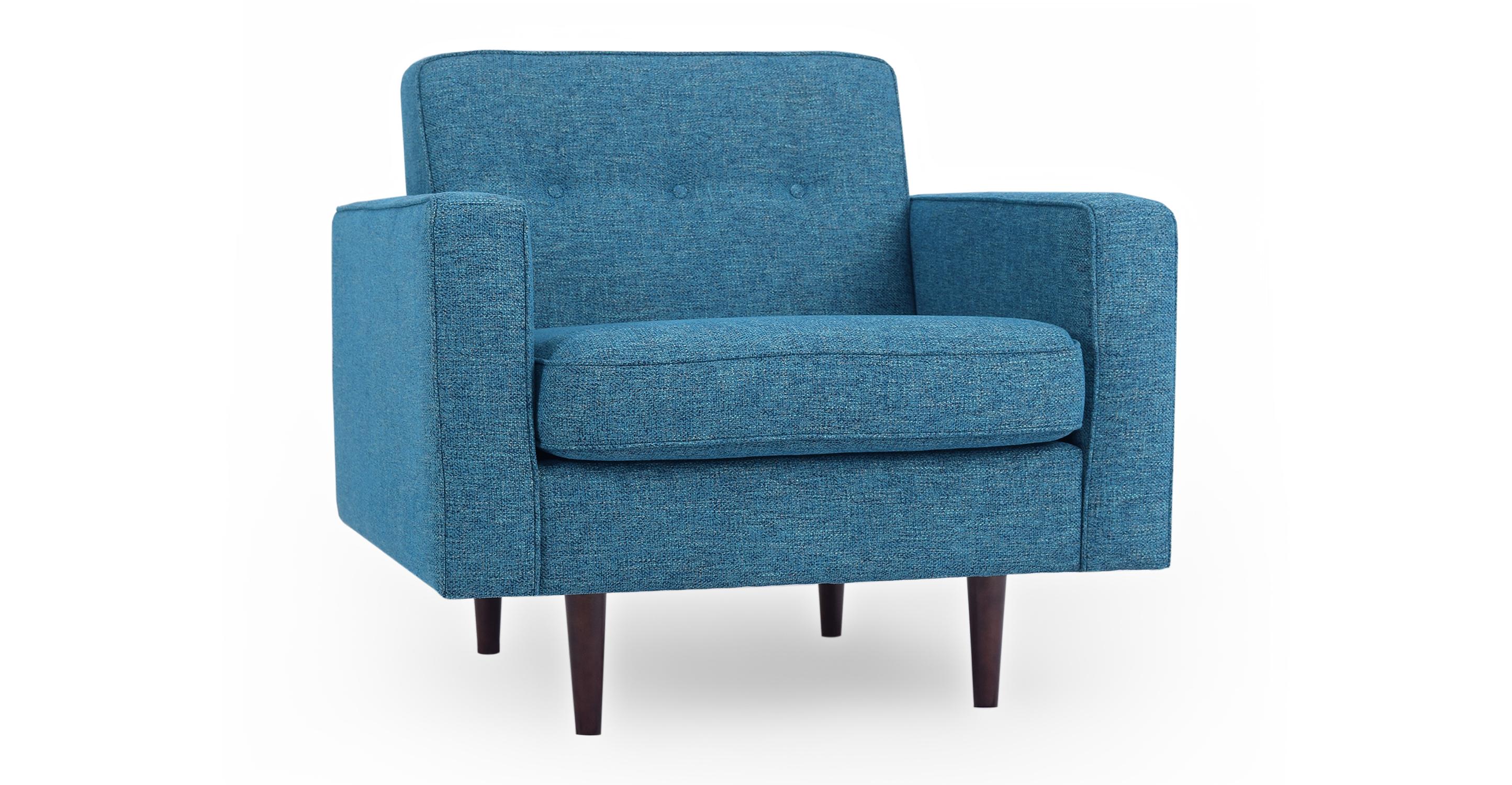 "Eleanor 35"" Fabric Chair, Bliss"