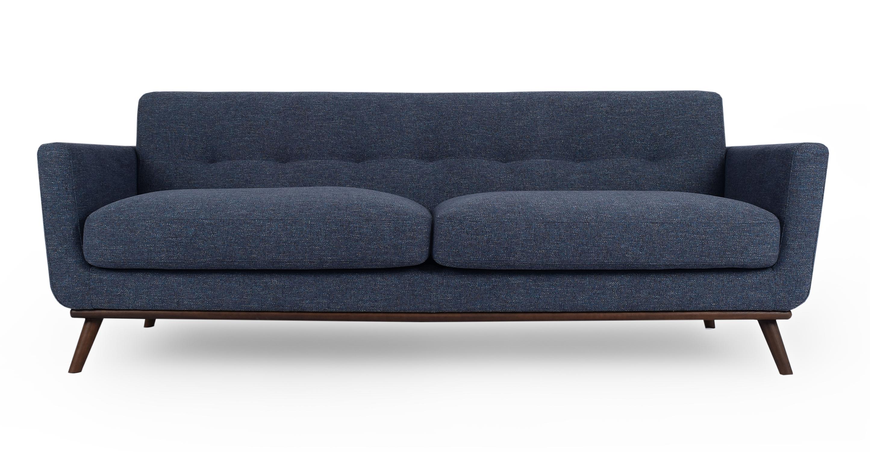 "Jackie 88"" Fabric Sofa, Jagar"