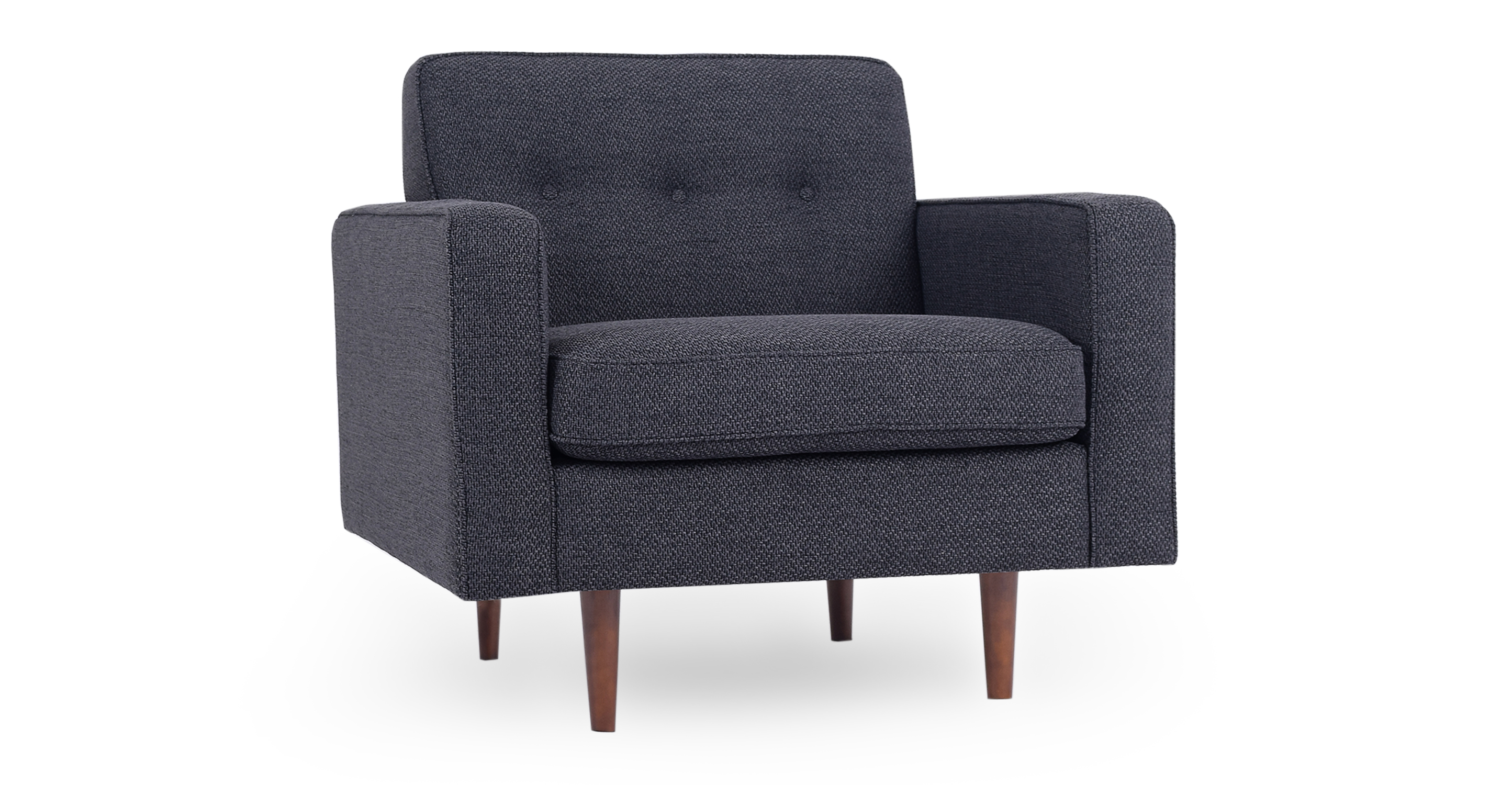 "Eleanor 35"" Fabric Chair, Niemeyer"