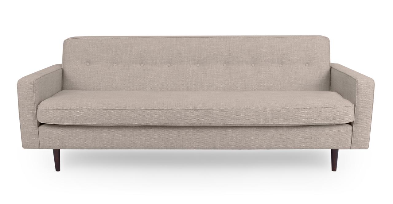 "Eleanor 85"" Fabric Sofa, Renewal Twill"