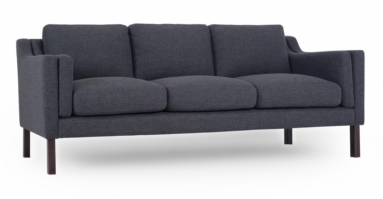 "Monroe 87"" Fabric Sofa, Niemeyer"
