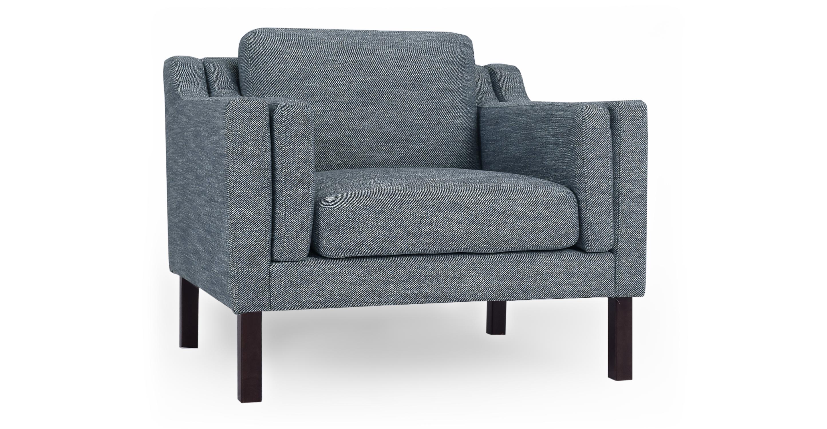 """Monroe 39"""" Fabric Chair, Titanium"""