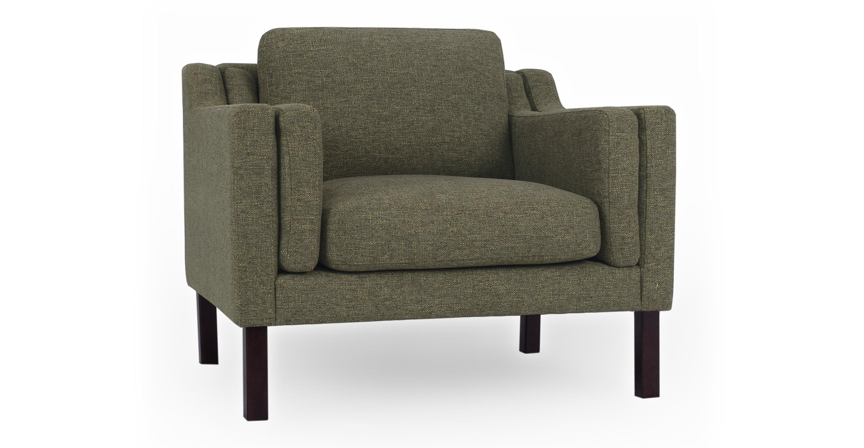 """Monroe 39"""" Fabric Chair, Tarragon"""