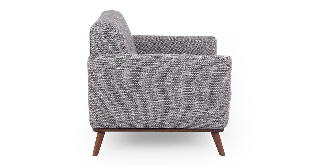 """Jackie 38"""" Fabric Armchair,  Eichler"""