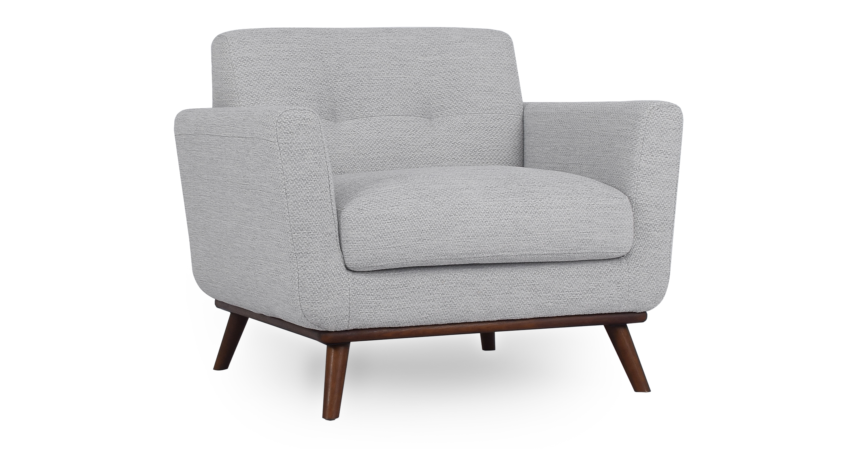 "Jackie 38"" Fabric Armchair, Neutra"