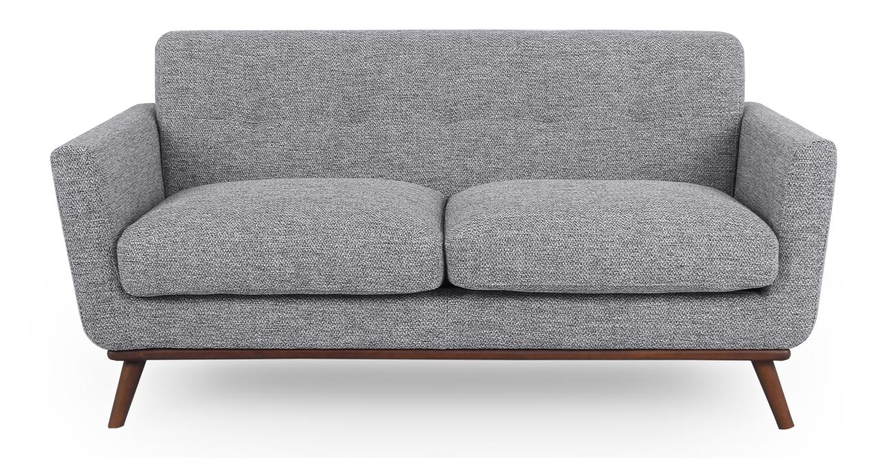 """Jackie 67"""" Fabric Sofa, Eichler"""