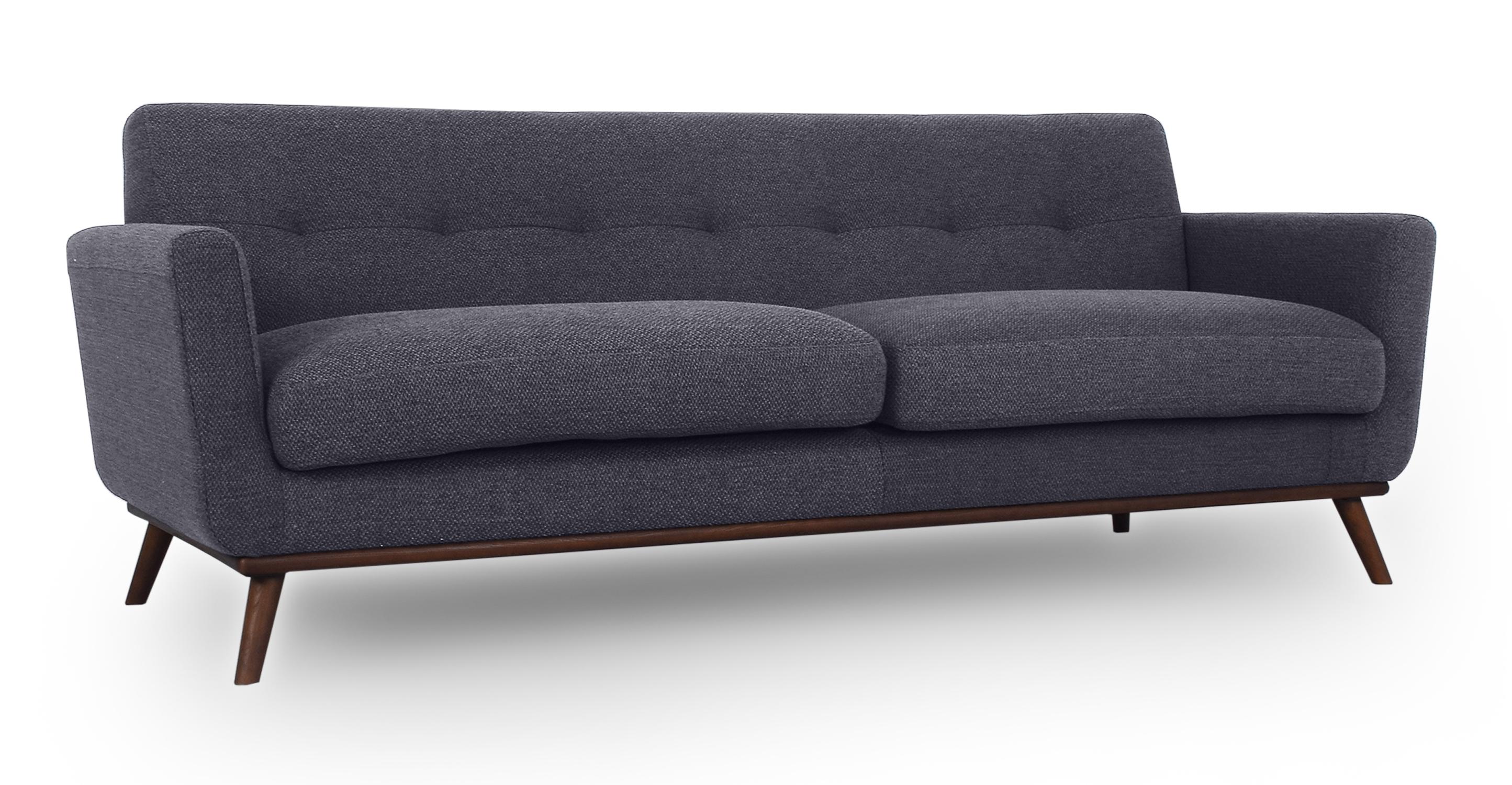 """Jackie 88"""" Fabric Sofa, Niemeyer"""