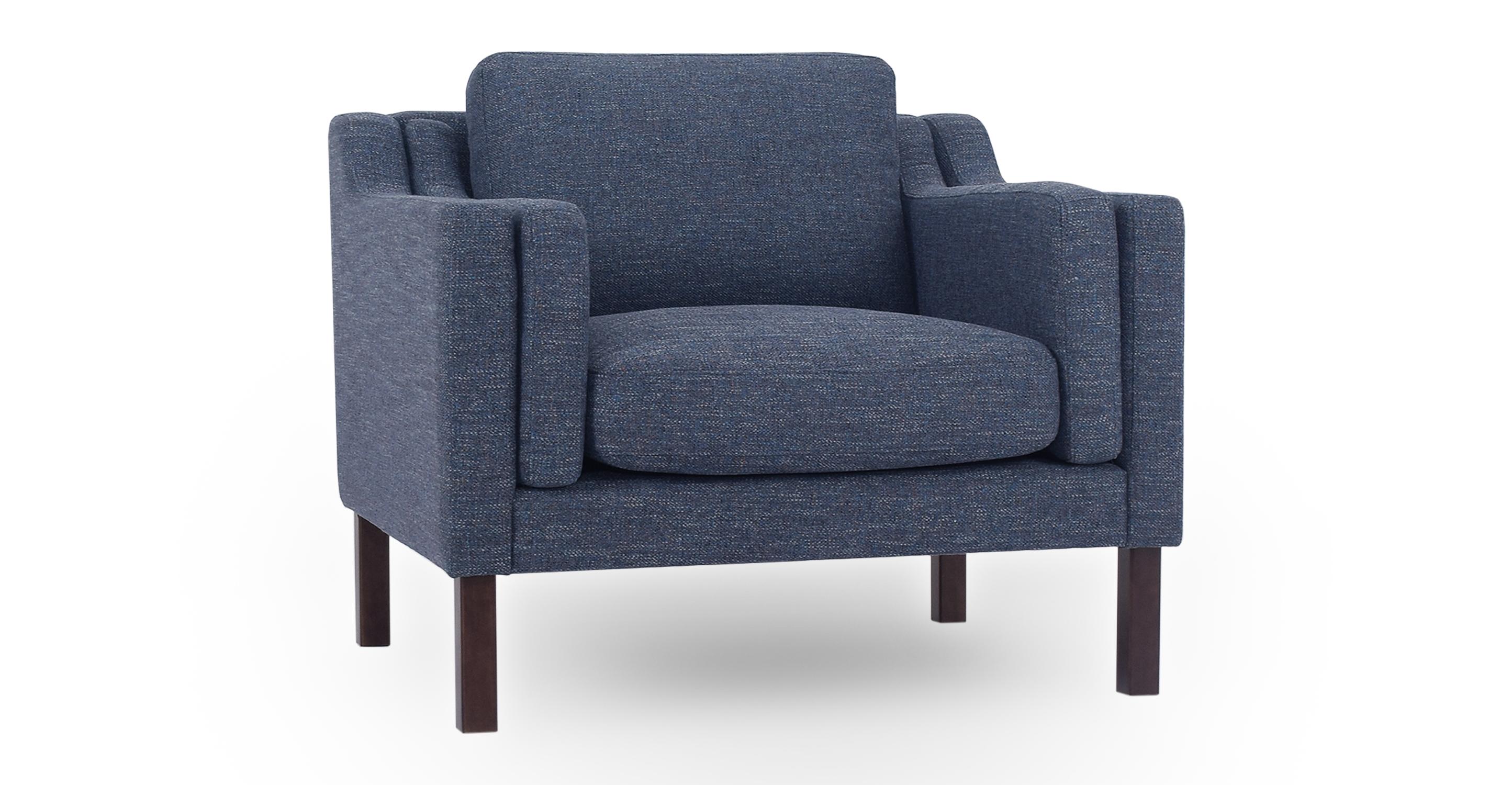 """Monroe 39"""" Fabric Chair, Jagar"""