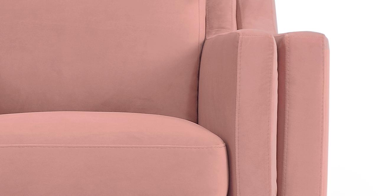 "Monroe 39"" Fabric Chair, Cosmo Velvet"