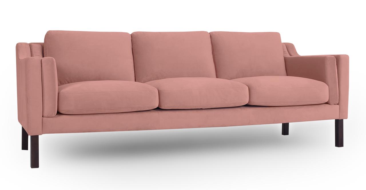 """Monroe 87"""" Fabric Sofa, Cosmo Velvet"""