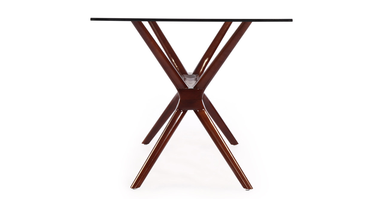 Sputnik Dining Table, Walnut