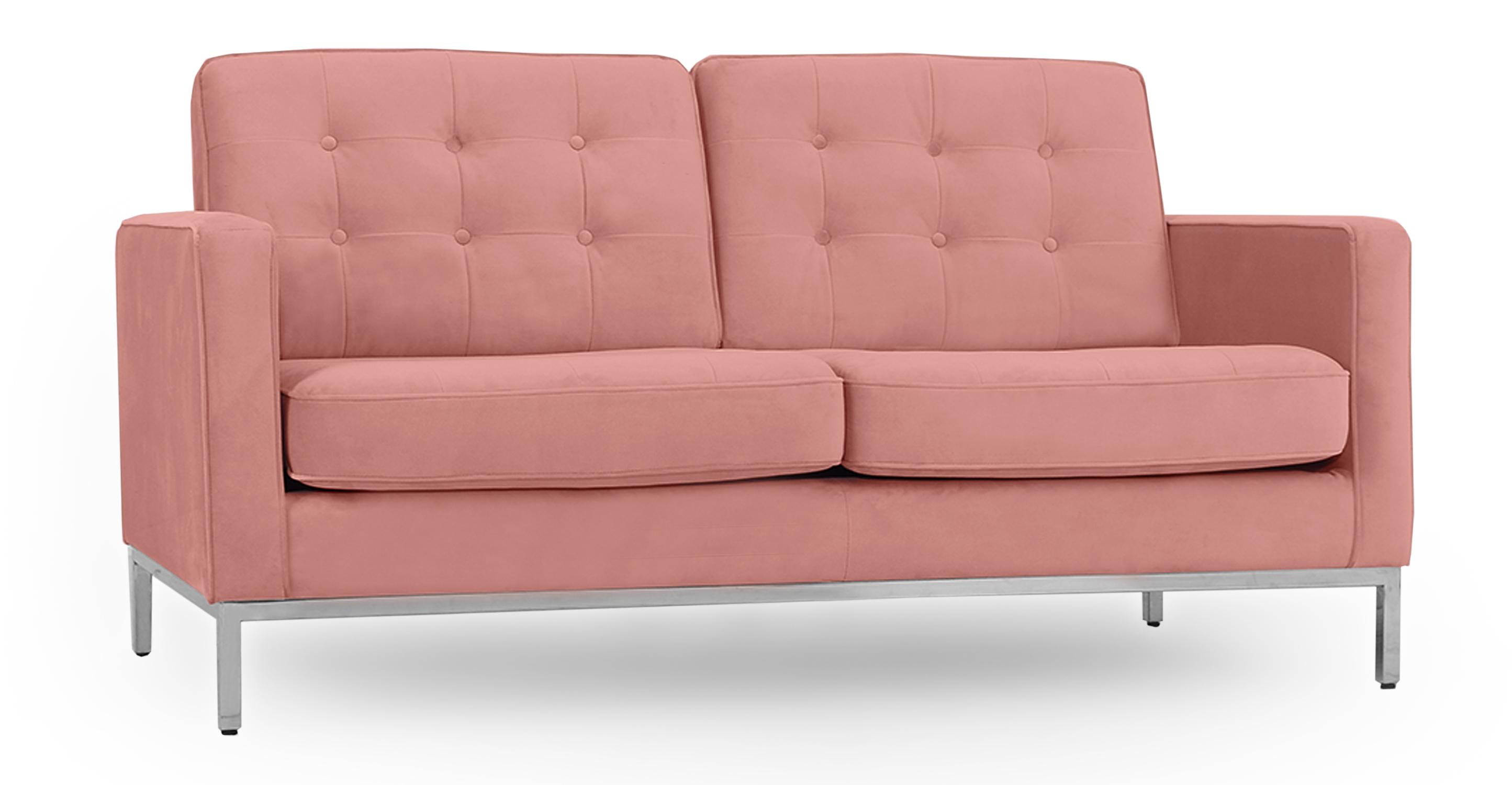 "Florence 62"" Fabric Sofa, Cosmo Velvet"