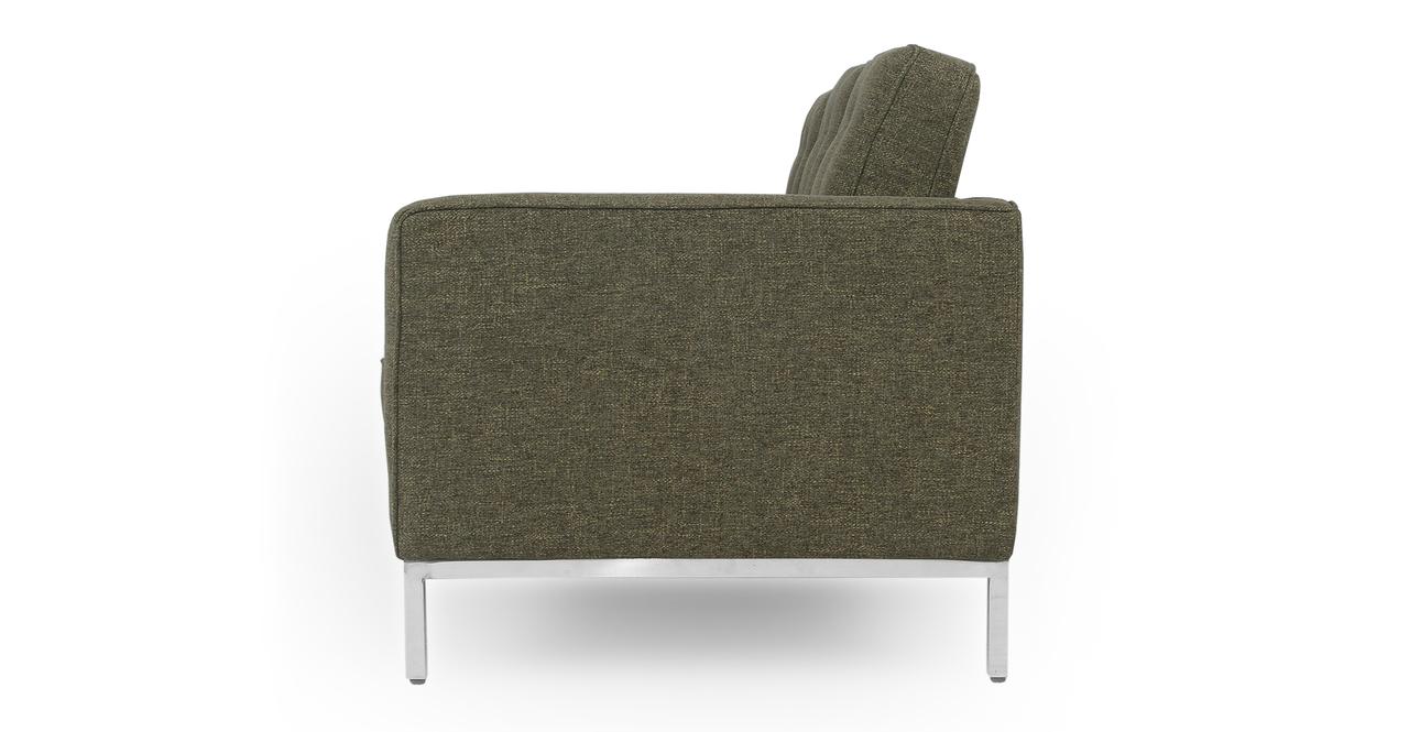 """Florence 89"""" Fabric Sofa, Tarragon Twill"""