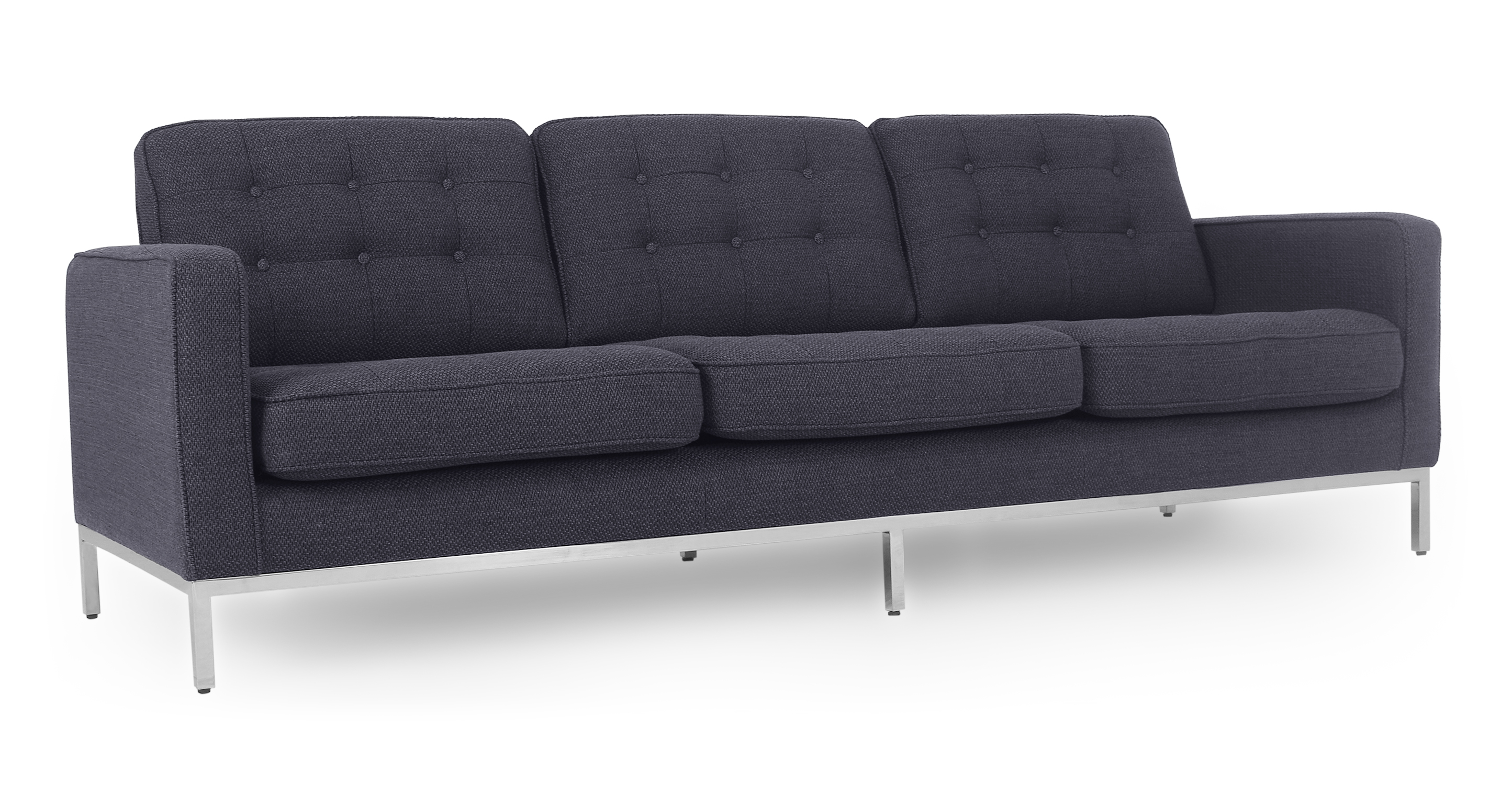 "Florence 89"" Fabric Sofa, Niemeyer"