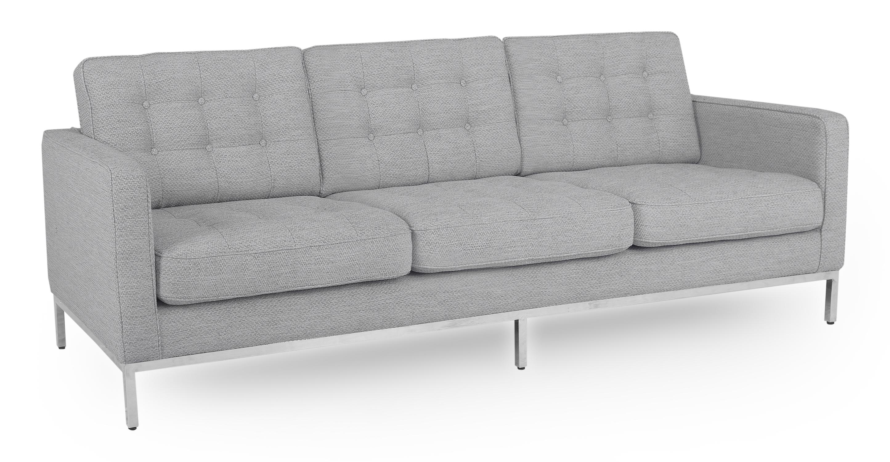 "Florence 89"" Fabric Sofa, Neutra"