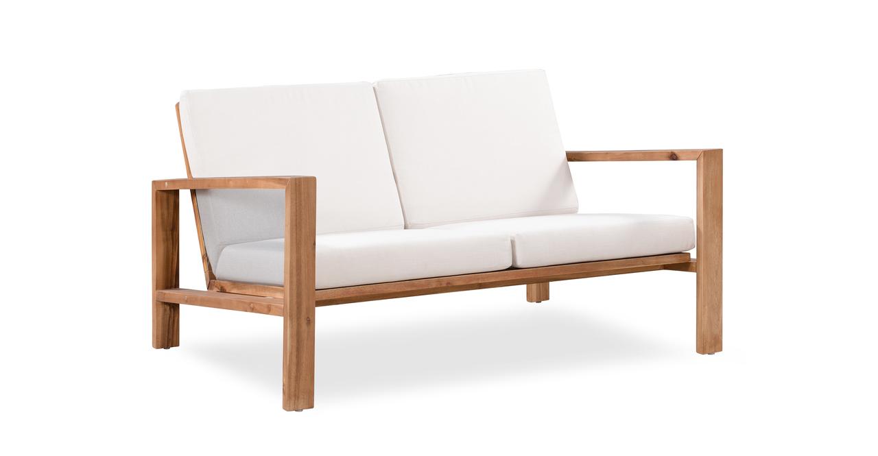 Aegean 10-pc Solid Wood Outdoor,  Cream