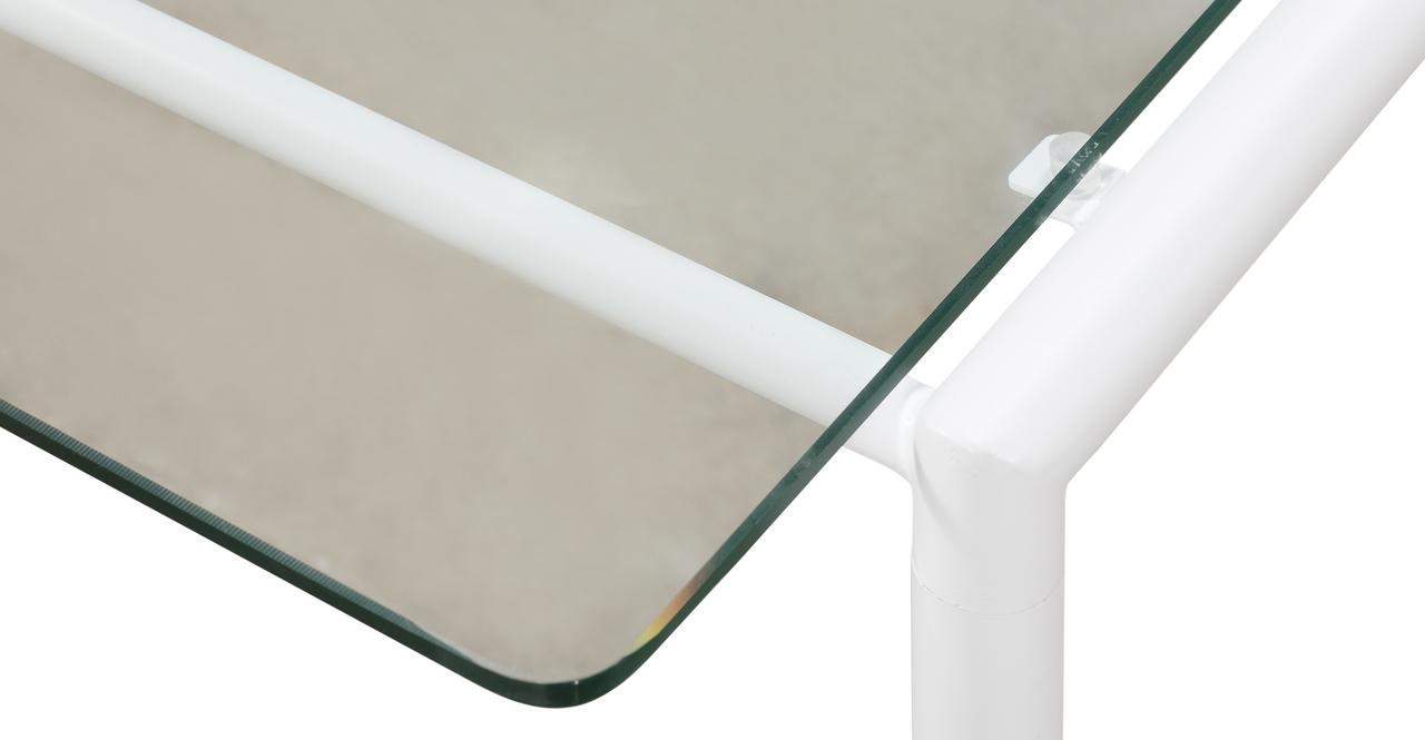 Curbed Outdoor Latitude 7-pc set, Cream/White