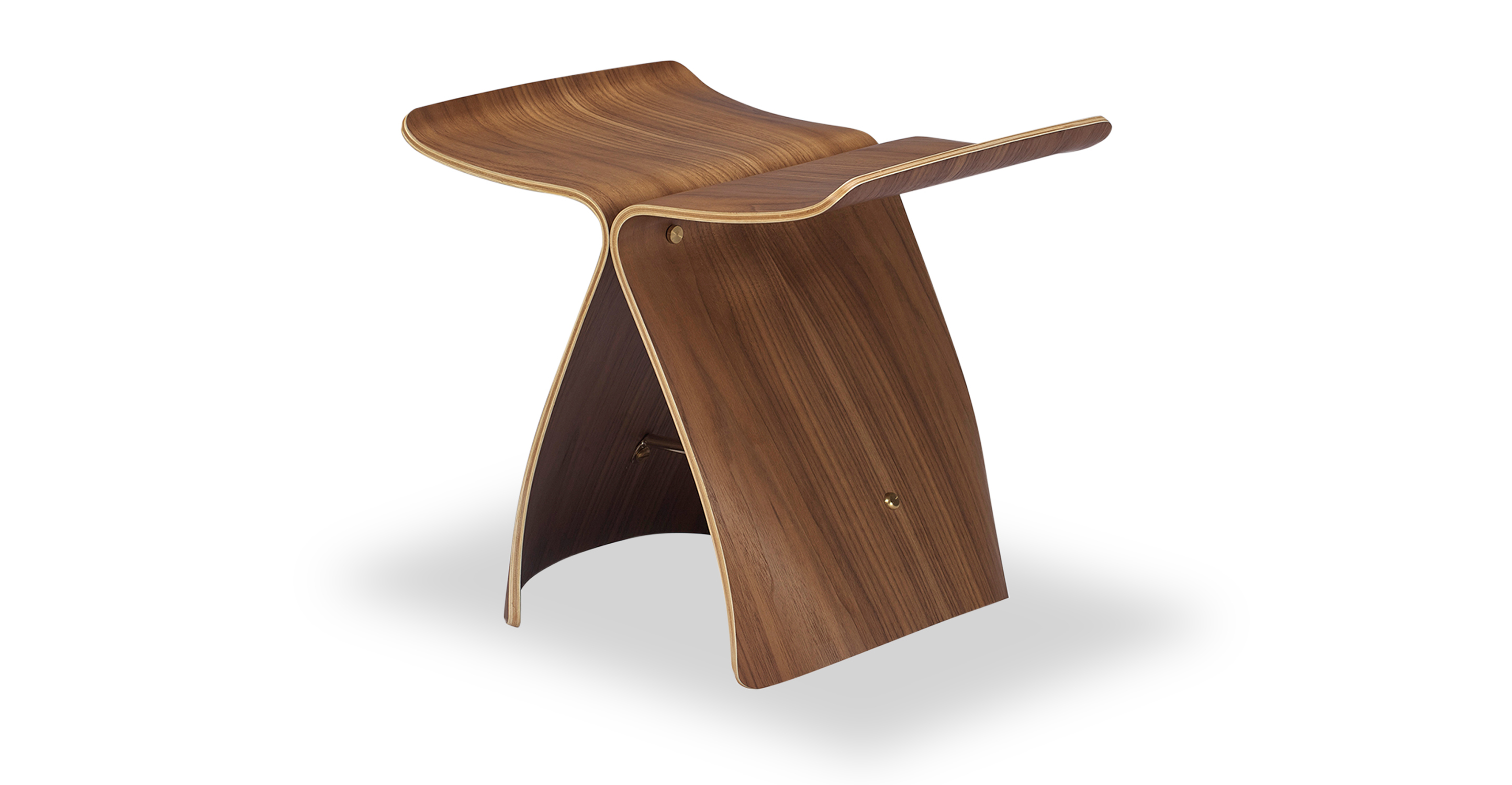 Butterfly Stool, Walnut