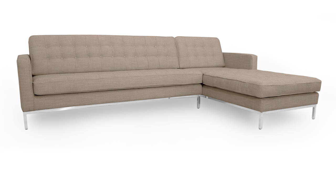 "Florence 101"" Fabric Right Sectional, Renewal"