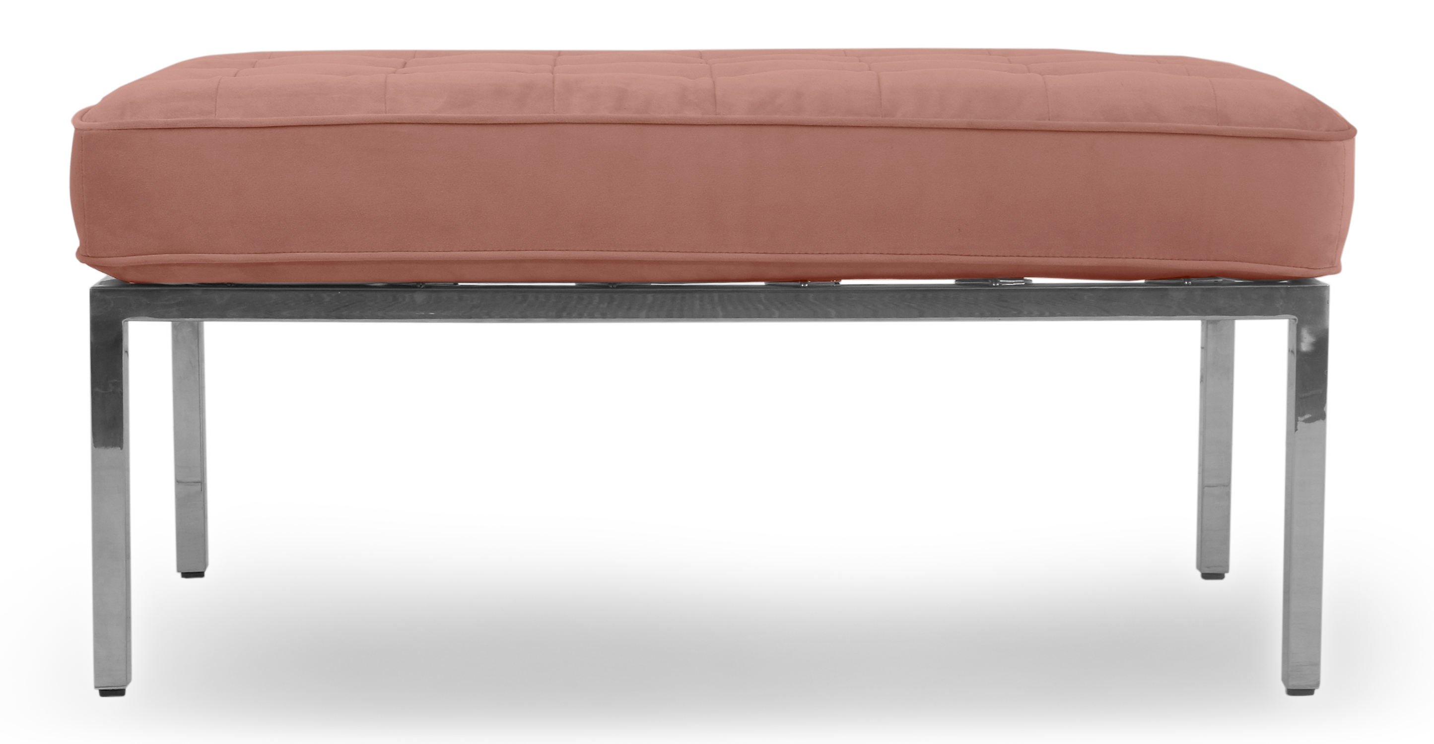 "Florence 36"" Fabric Bench, Cosmo Velvet"