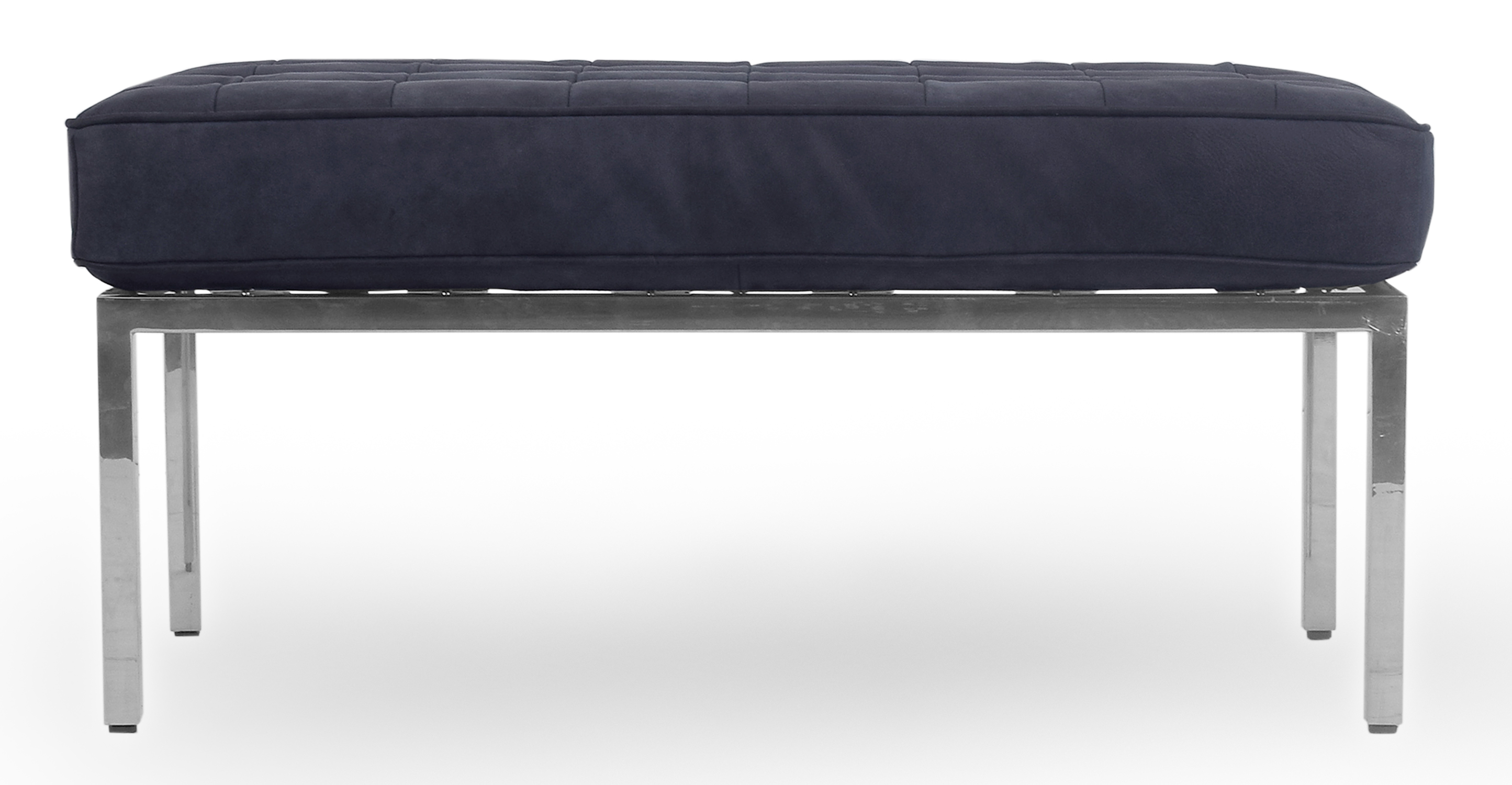 "Florence 36"" Leather Bench, Night"
