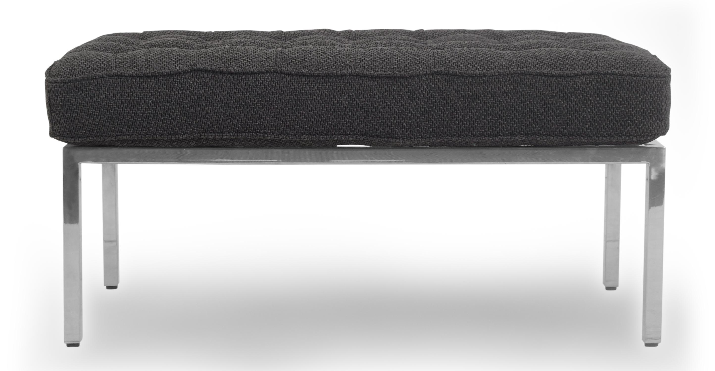 "Florence 36"" Fabric Bench, Niemeyer"