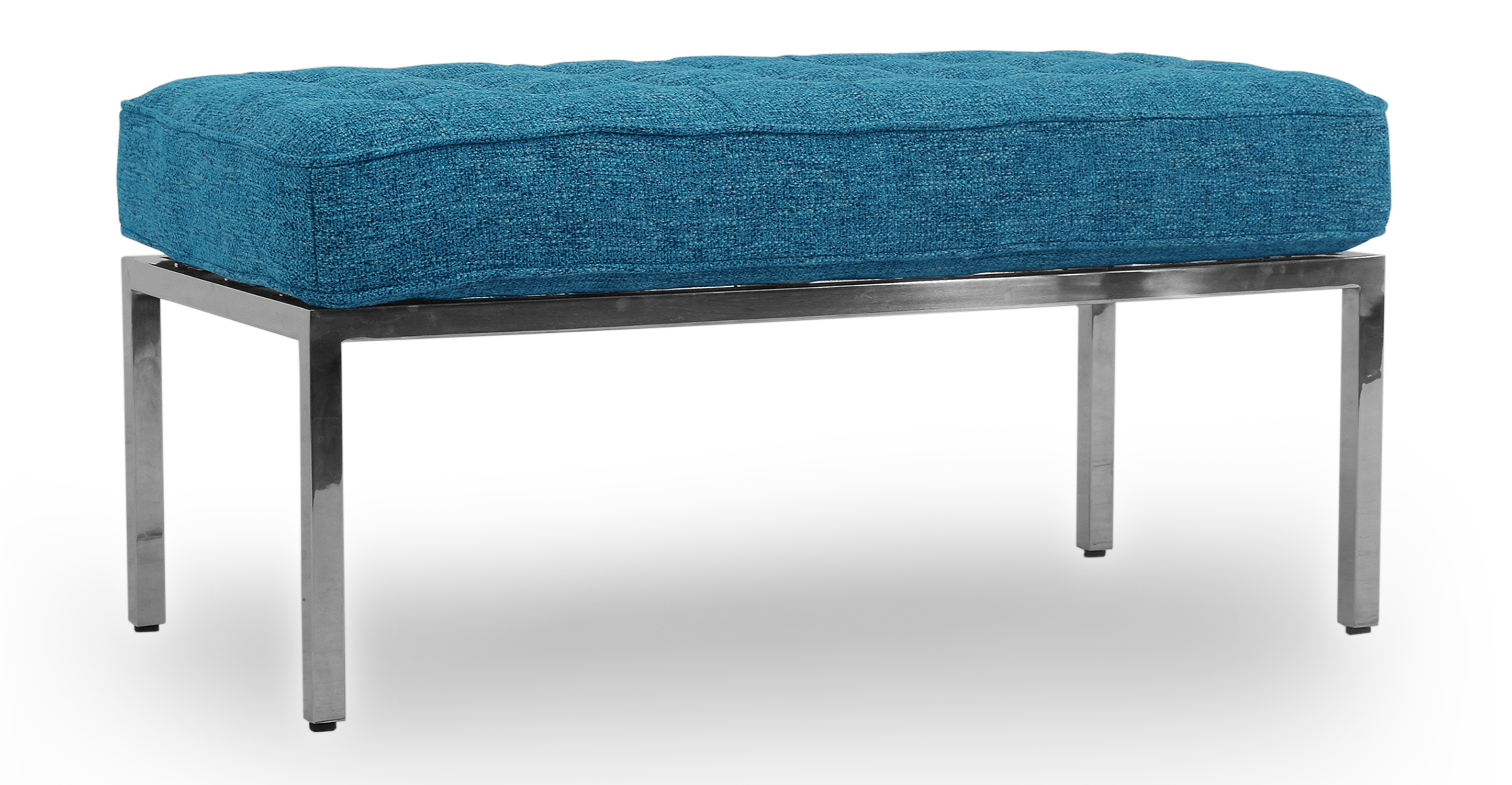"""Florence 36"""" Fabric Bench, Bliss Twill"""