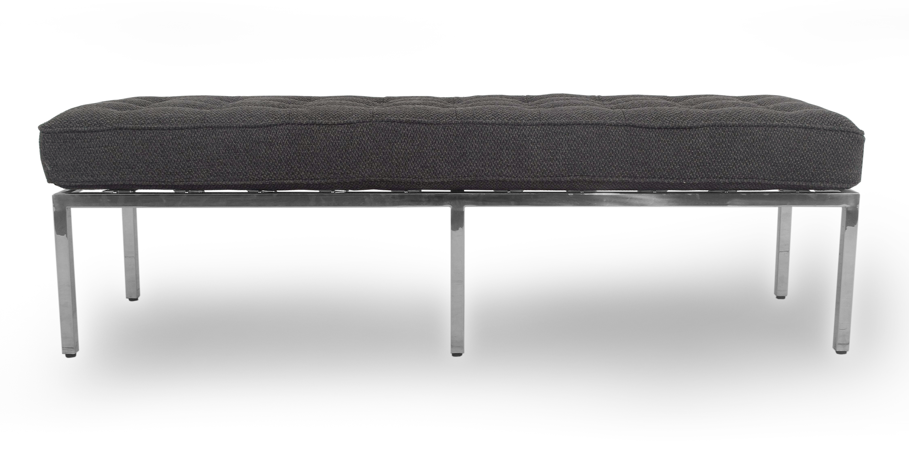 "Florence 59"" Fabric Bench, Niemeyer"