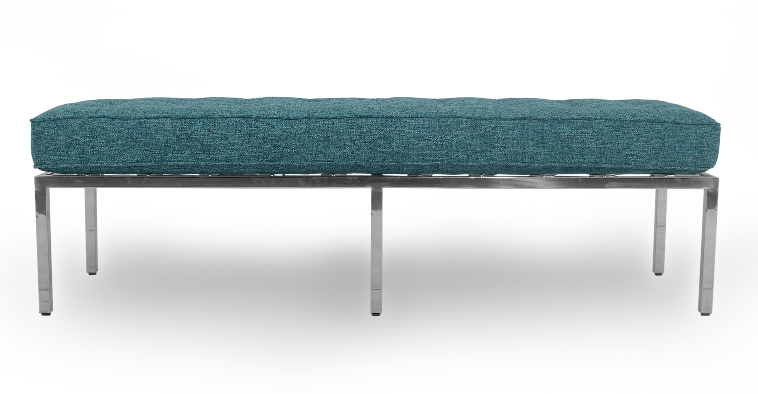 """Florence 59"""" Fabric Bench, Bliss"""