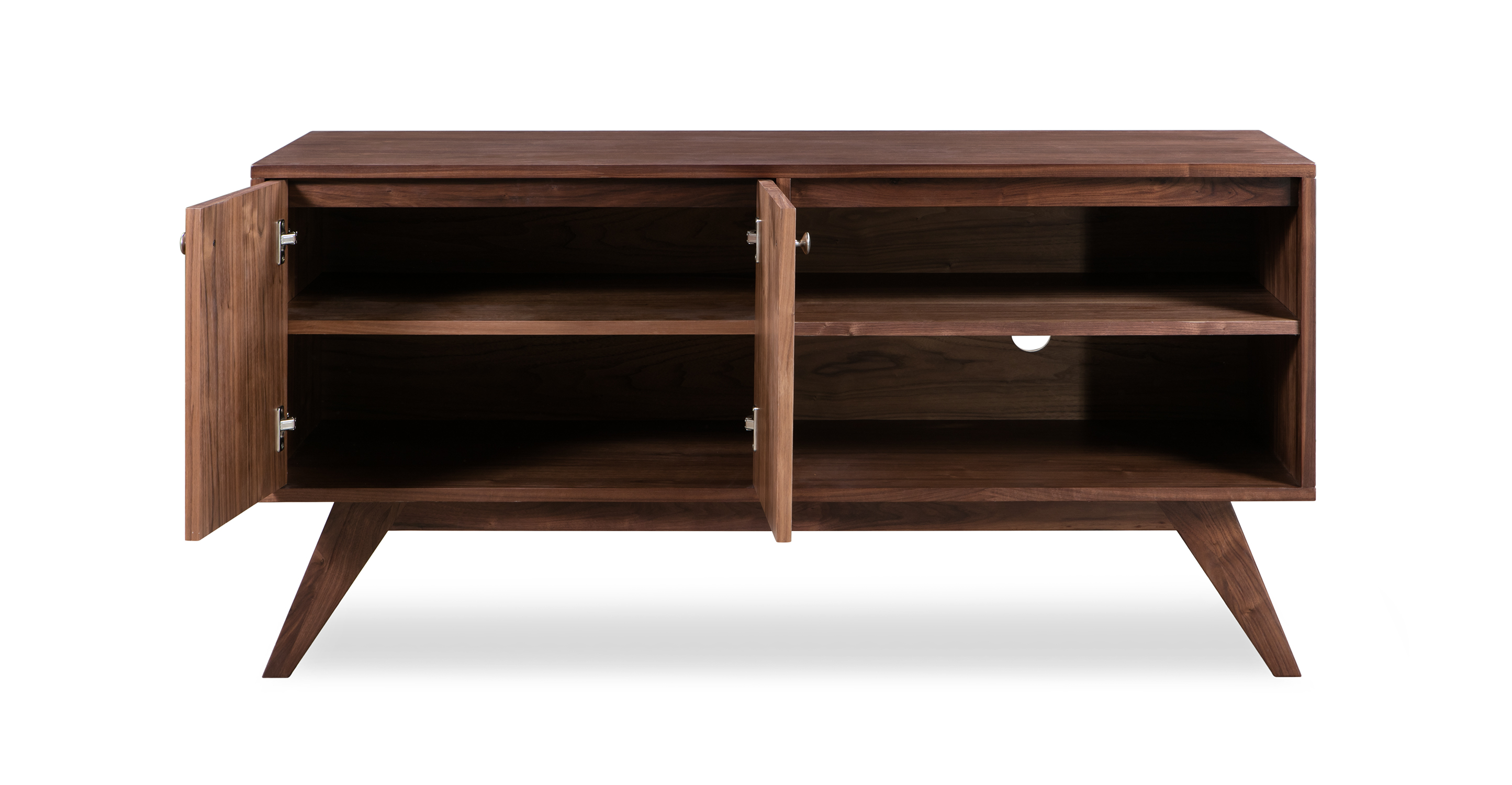 "Bauhaus 56"" TV Media Unit,  Walnut"