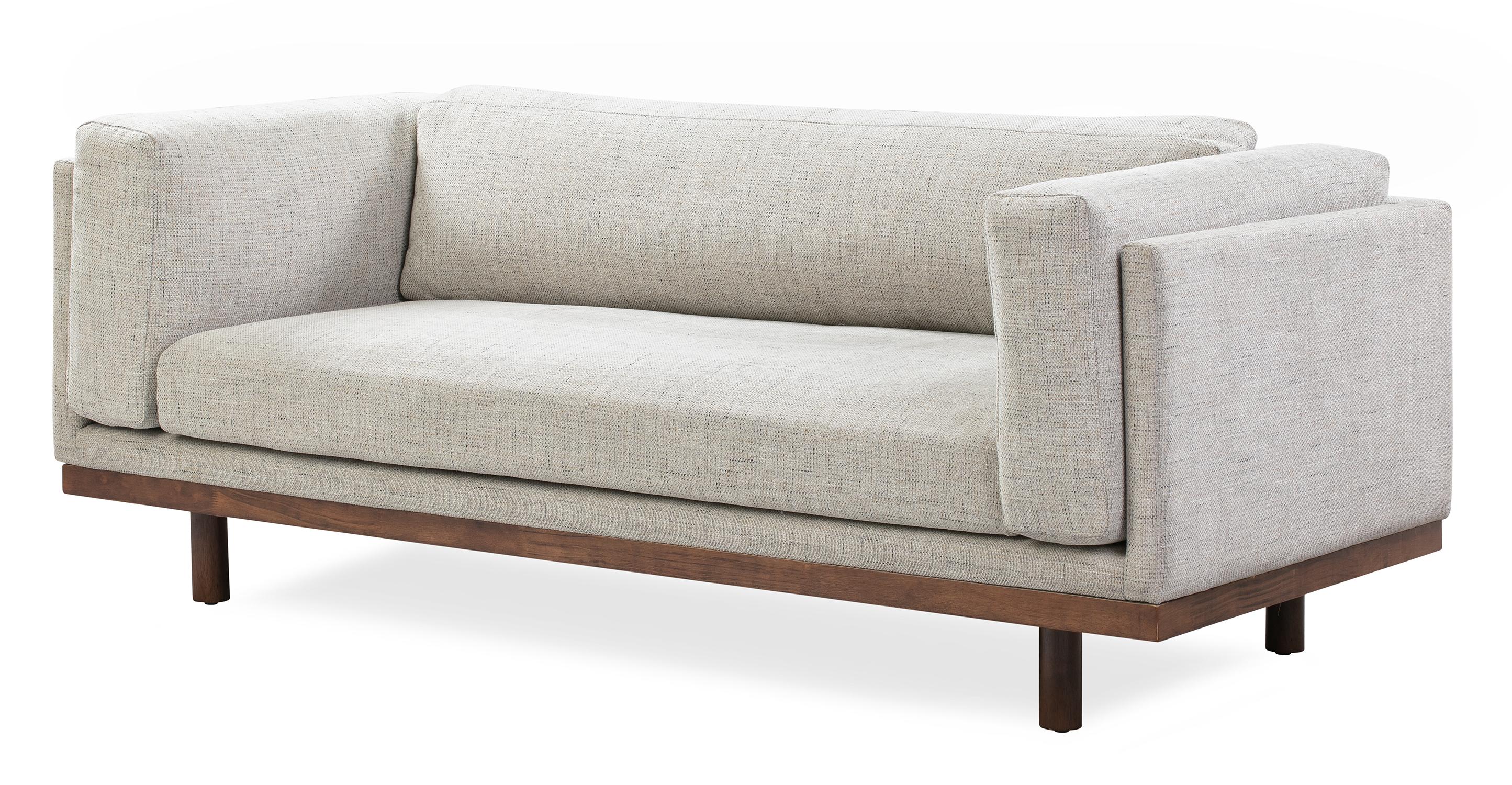 "Dane 79"" Fabric Sofa, Hessian"