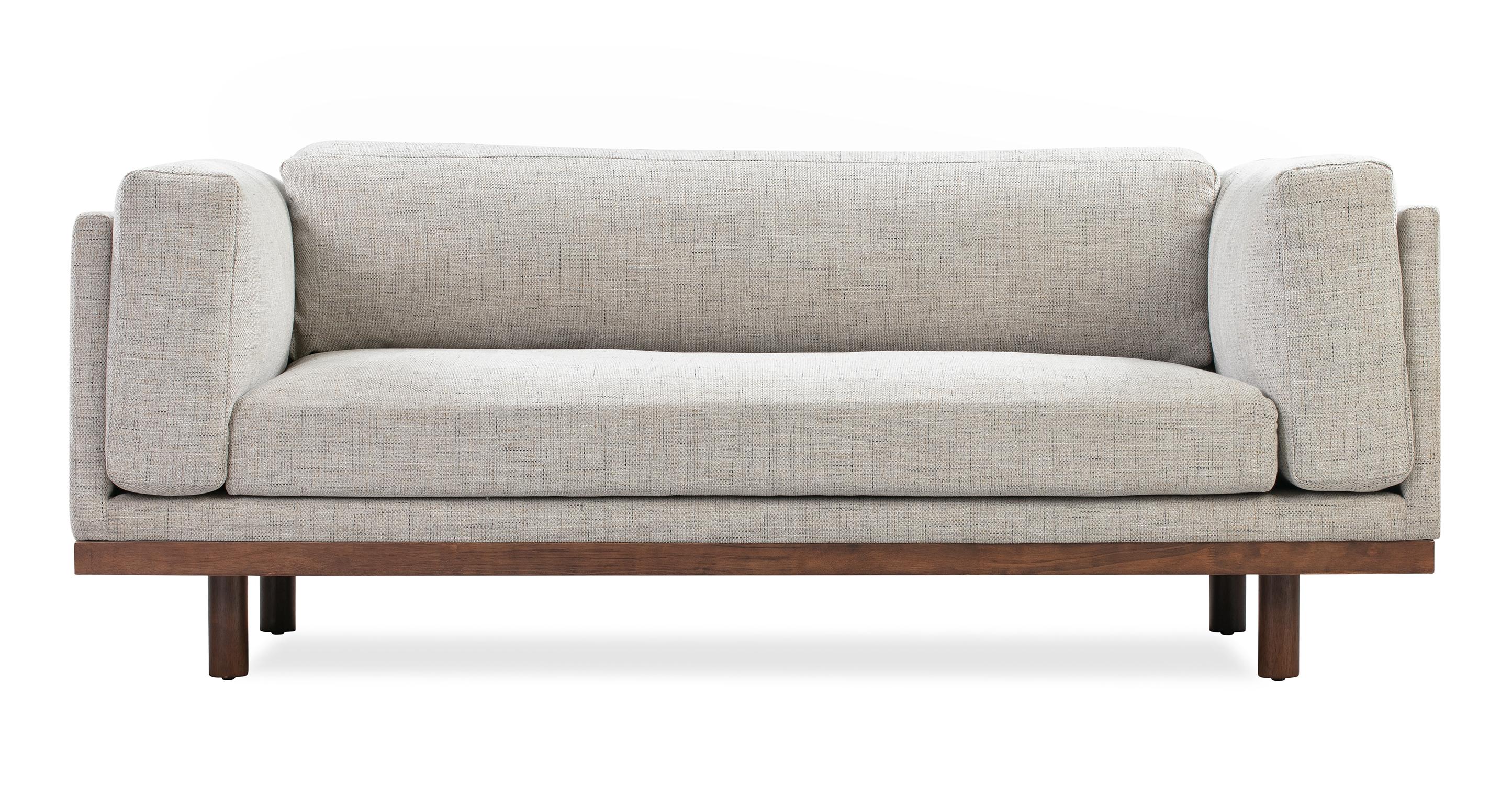"Dane 79"" Fabric Sofa, Hessian Flecked"