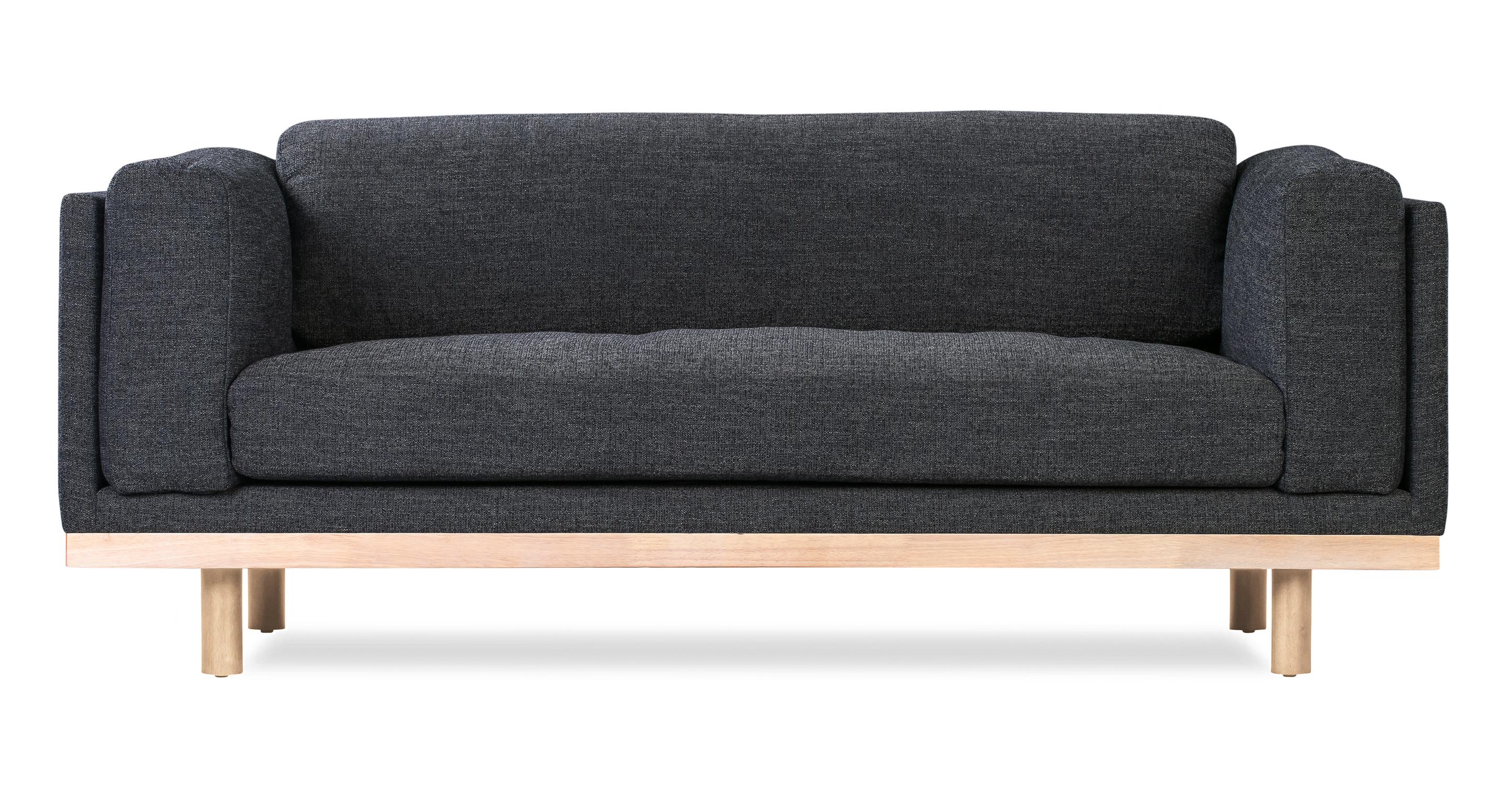 "Dane 79"" Fabric Sofa, Strauss Woven"