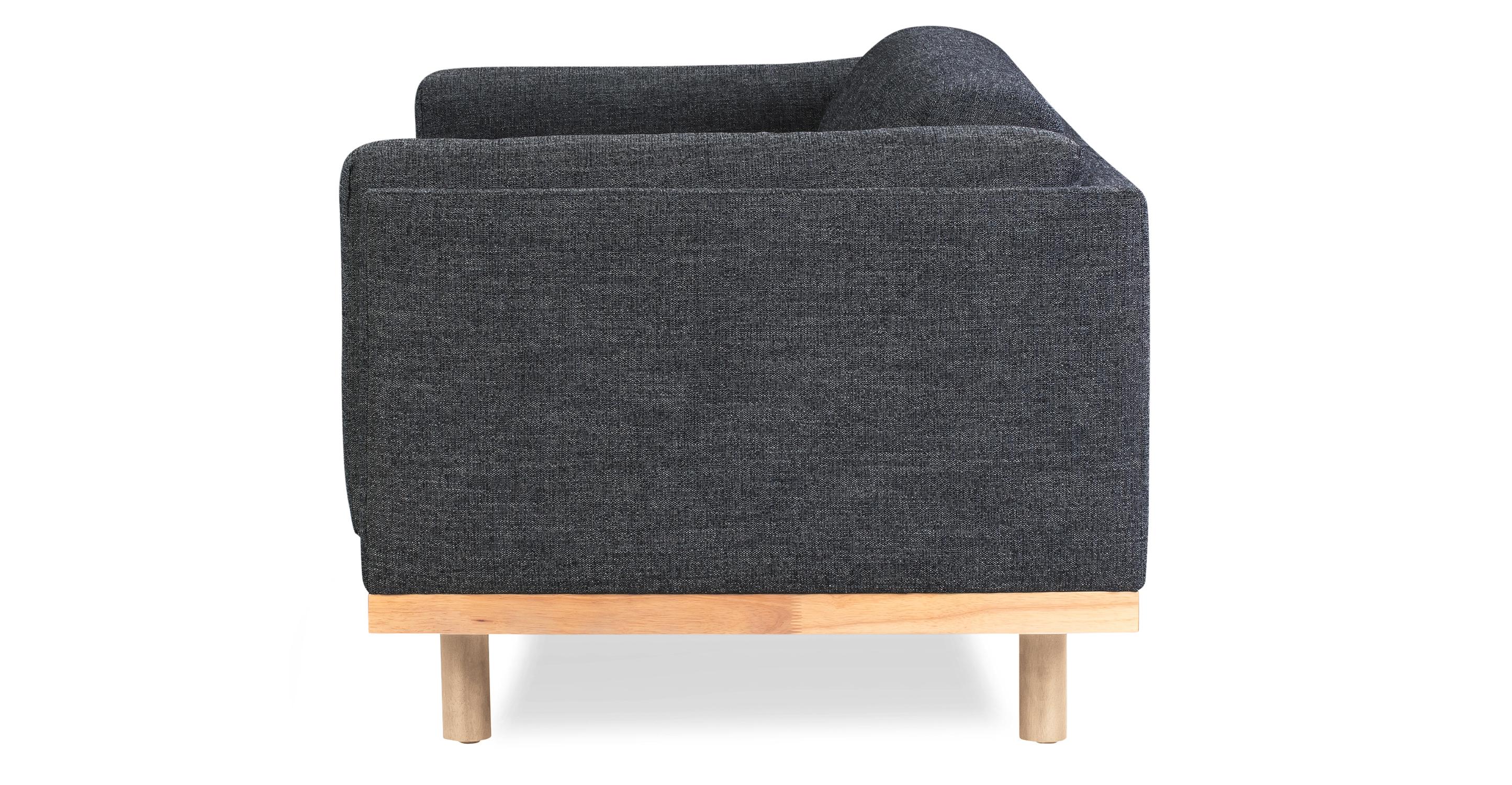 "Dane 79"" Fabric Sofa, Denim"