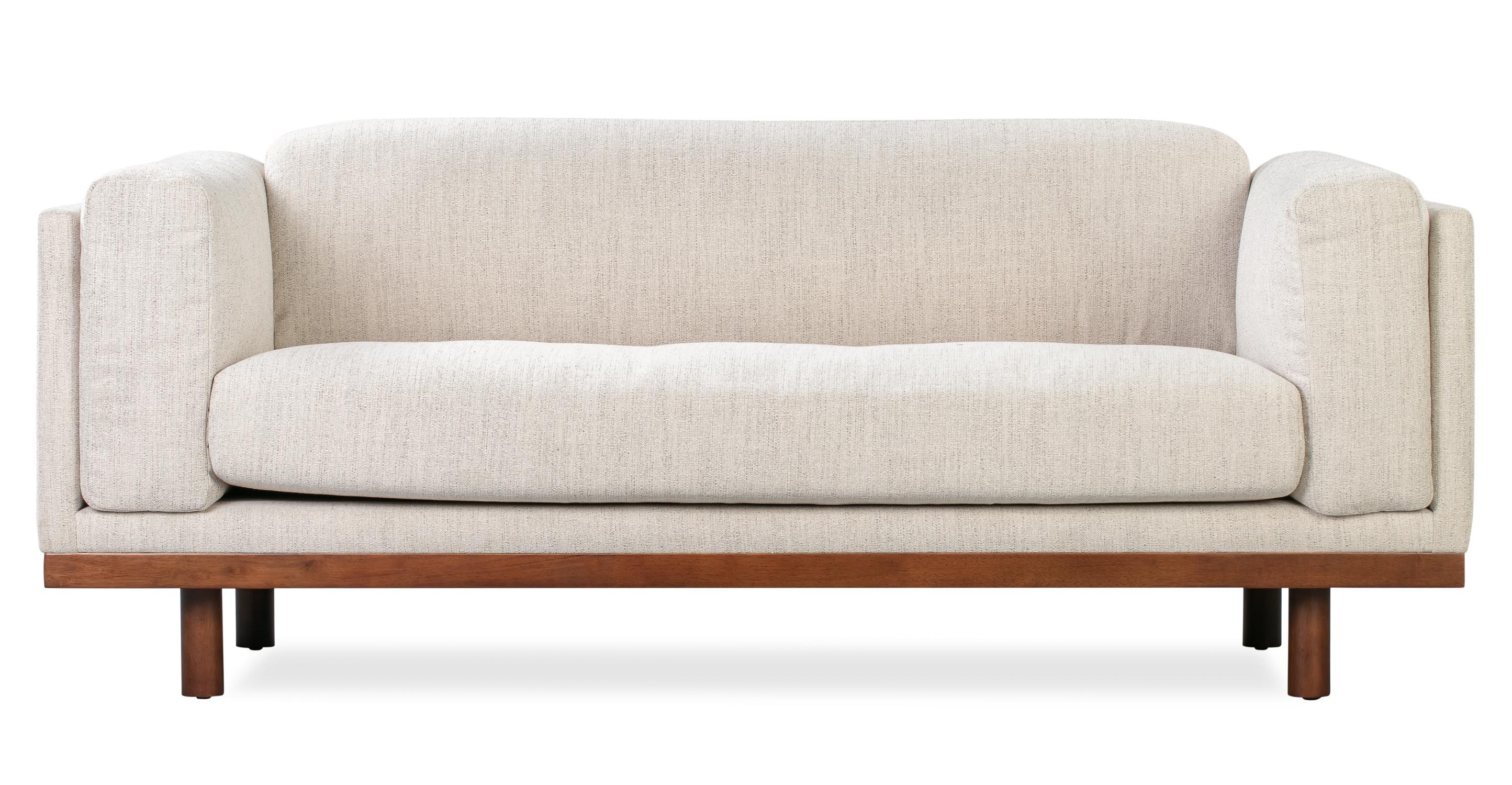 "Dane 79"" Fabric Sofa, Oyster Woven"