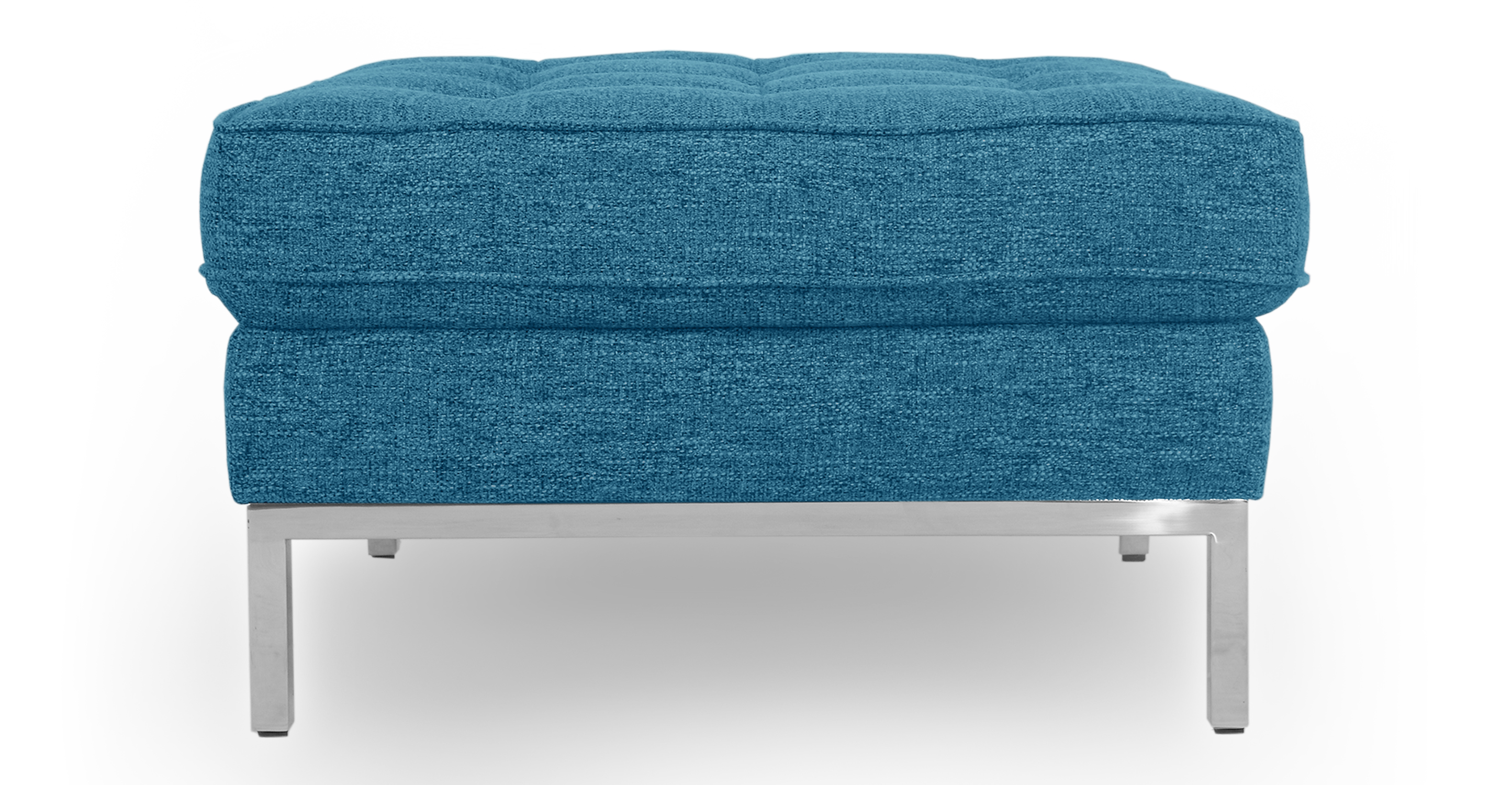 "Florence 28"" Fabric Ottoman, Bliss"