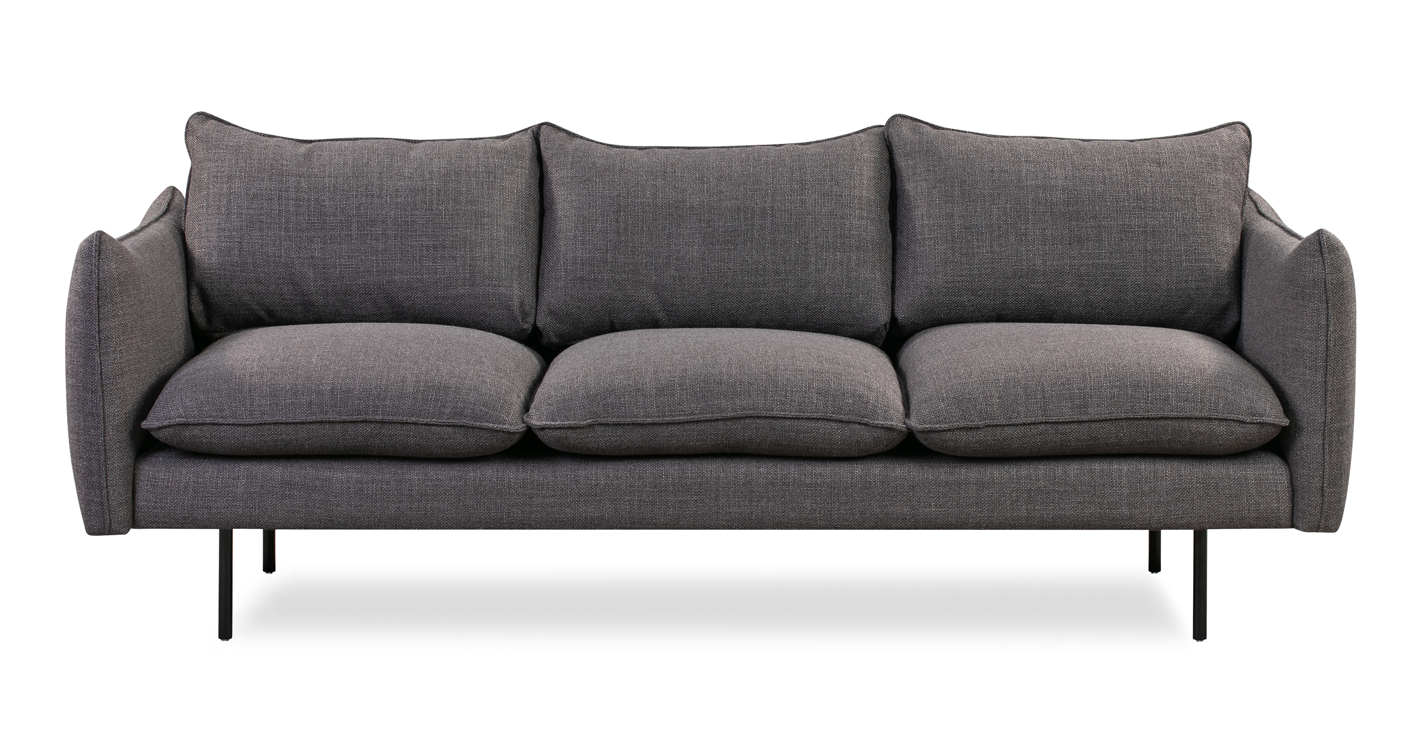"""Oscar 87"""" Fabric Sofa, Dior Grey"""