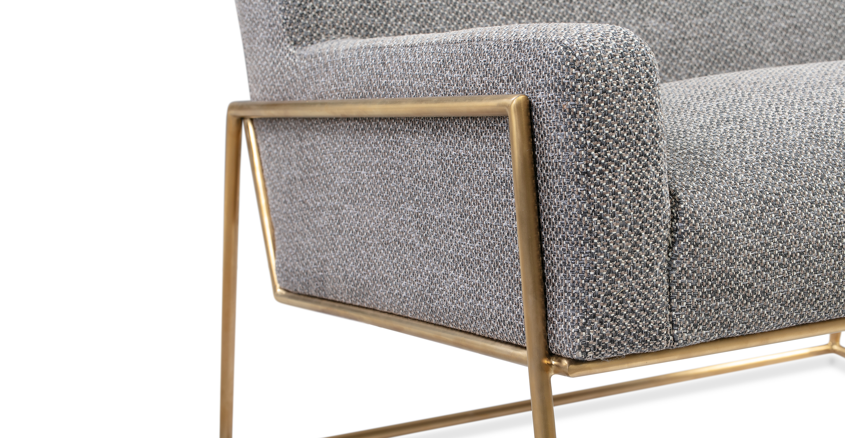 """Suspend 33"""" Fabric Chair, Sparrow"""