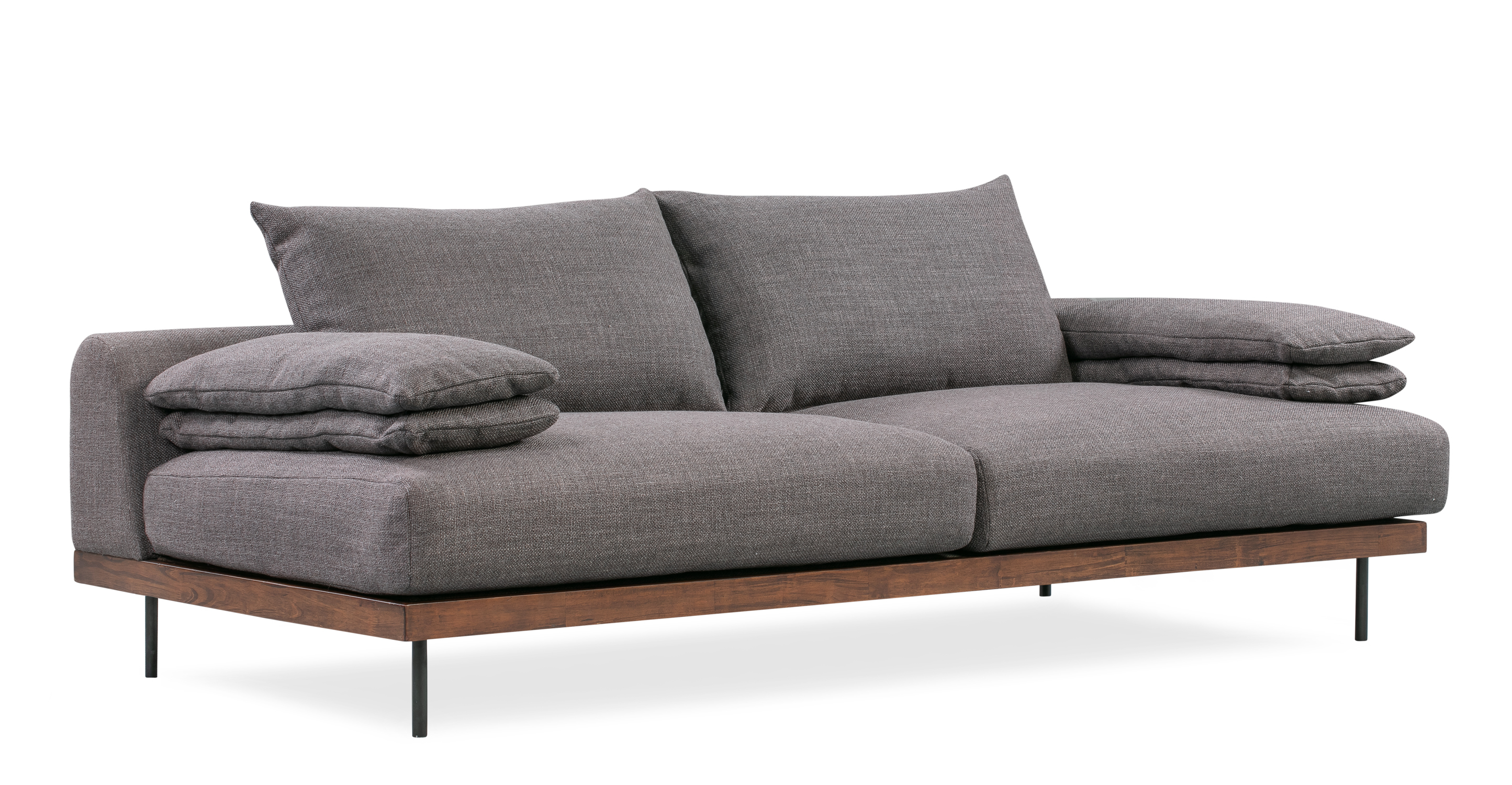 "Malibu 91"" Fabric Sofa Sleeper, Elyx Dior Grey"
