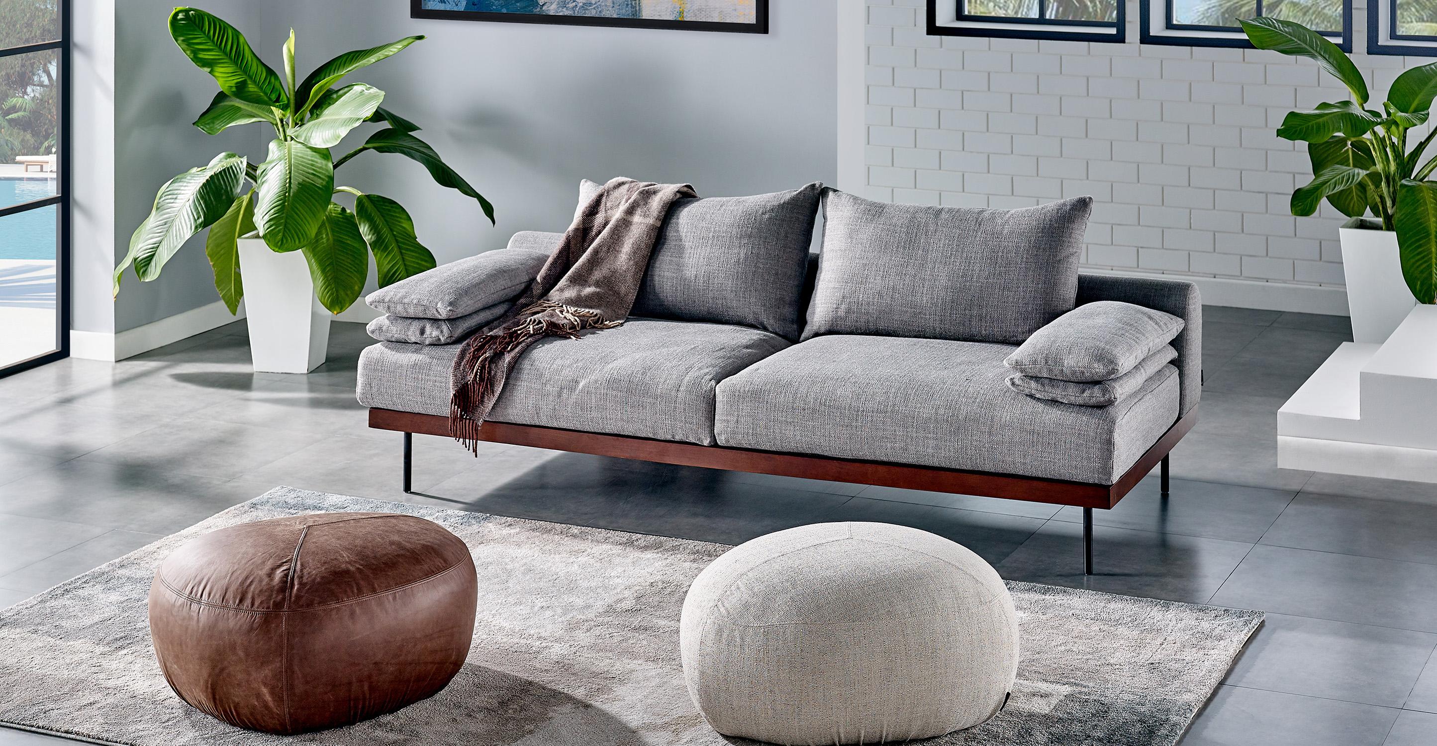 "Malibu 91"" Sofa Sleeper, Pearl"