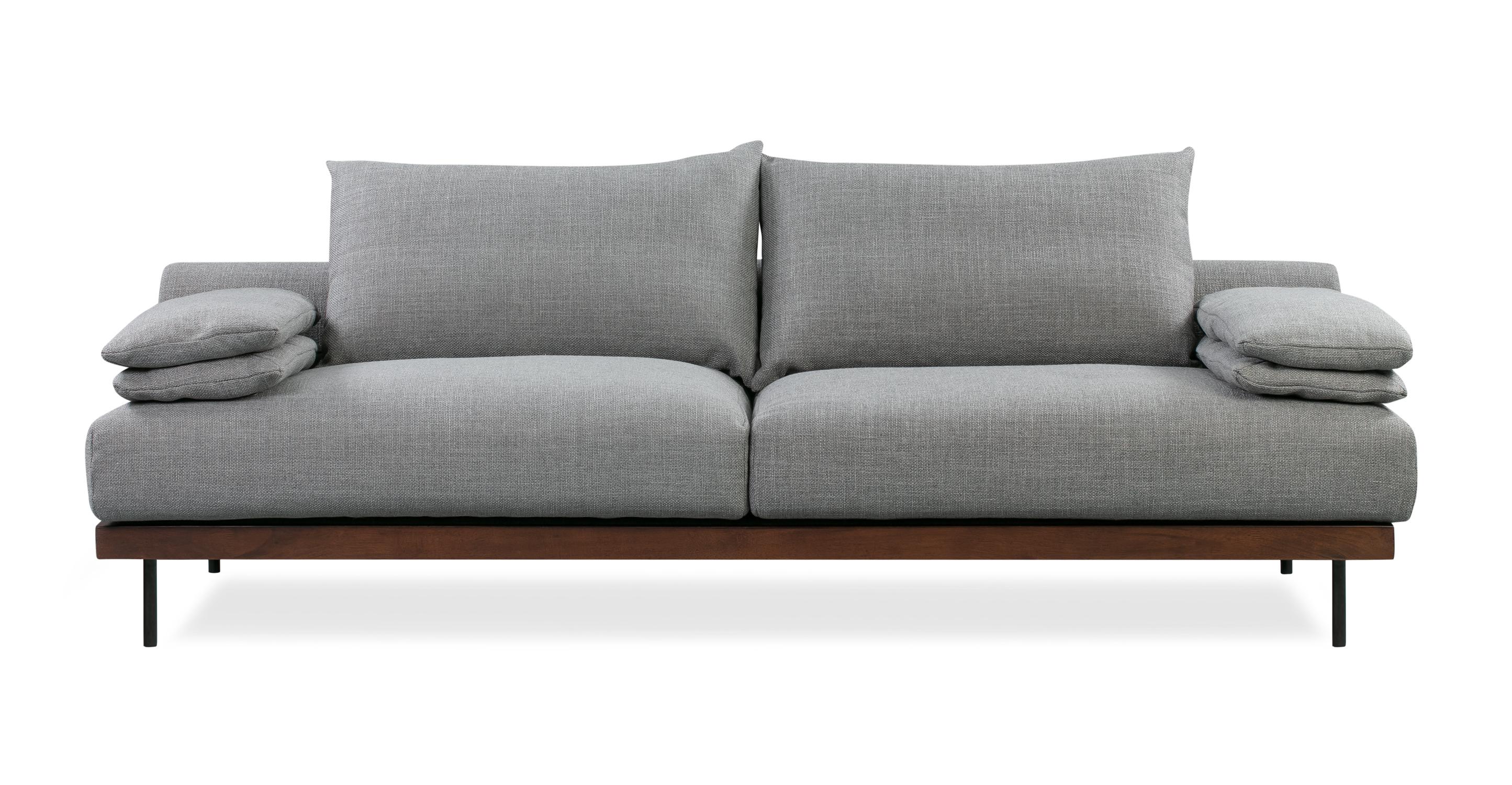 """Malibu 91"""" Sofa Sleeper, Sterling"""